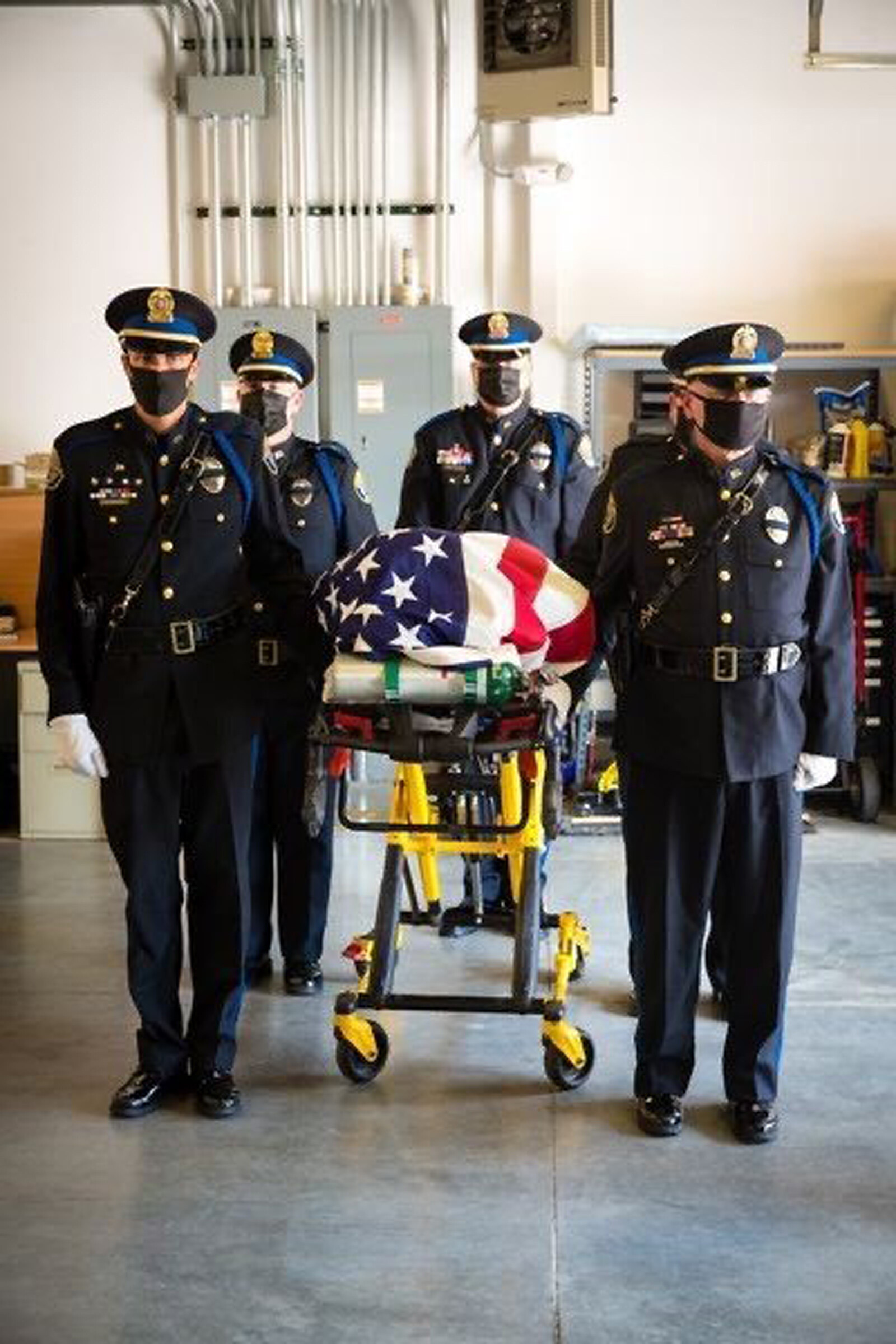 'Brothers in blue': One fallen officer's kidney was a match to a fellow officer who was injured in the line of duty