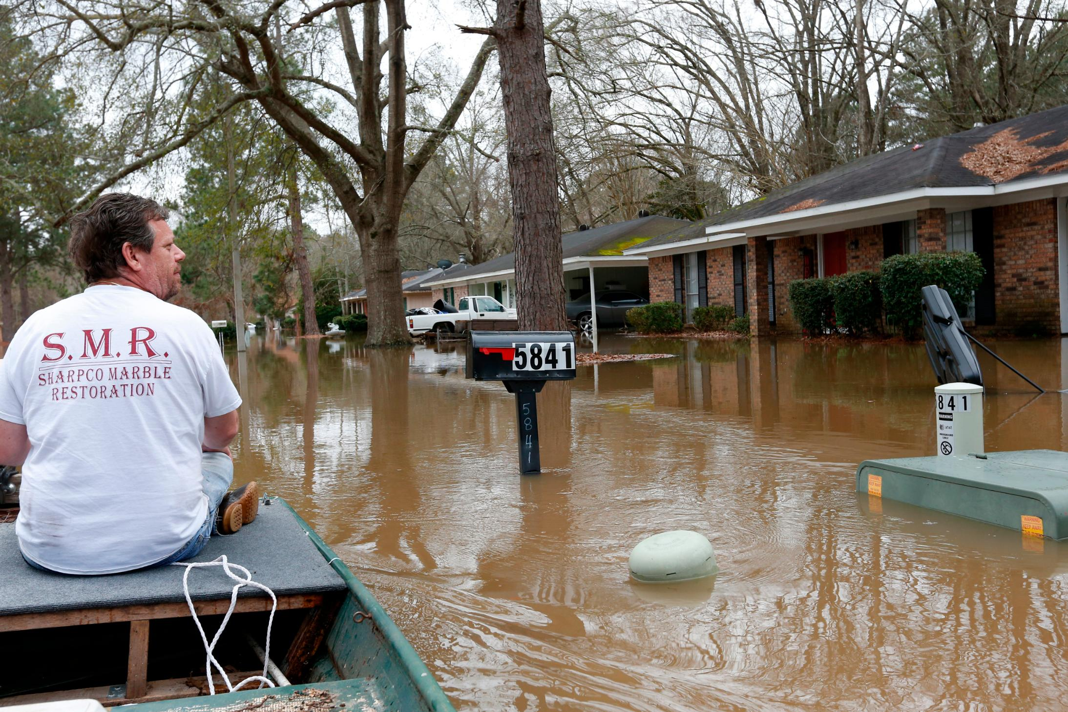 Historic flood waters in Mississippi will recede later this week. But not before more rain could cause issues for thousands