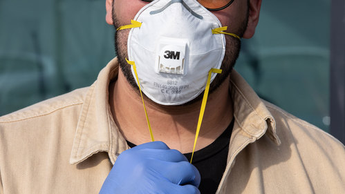 Image for Donations of respirator masks and other medical supplies needed at American hospitals coming from unlikely sources