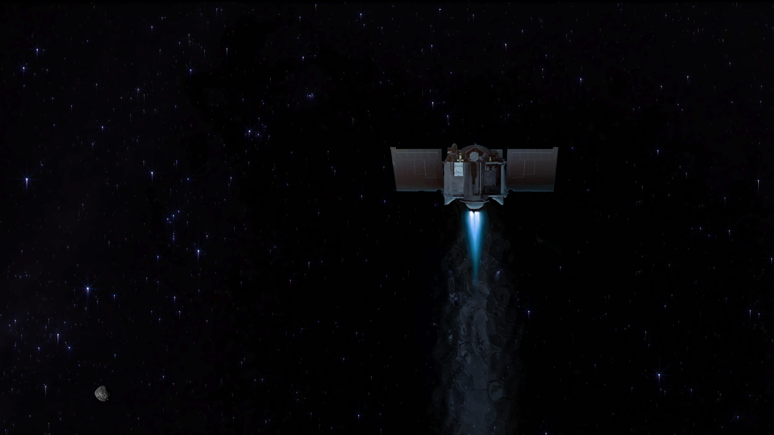 NASA spacecraft carrying history-making asteroid sample now heading toward Earth