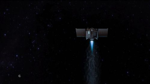 Image for NASA spacecraft carrying history-making asteroid sample will head toward Earth