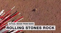 NASA has named a Mars rock after The Rolling Stones