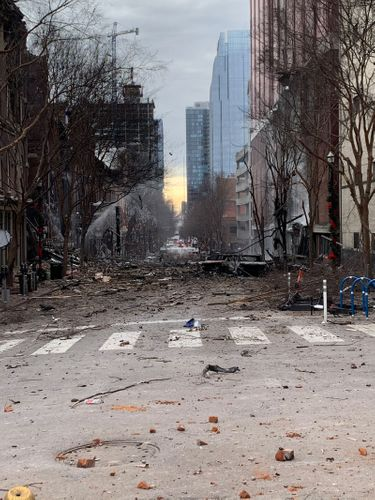 Image for AT&T working to restore outages after Nashville explosion