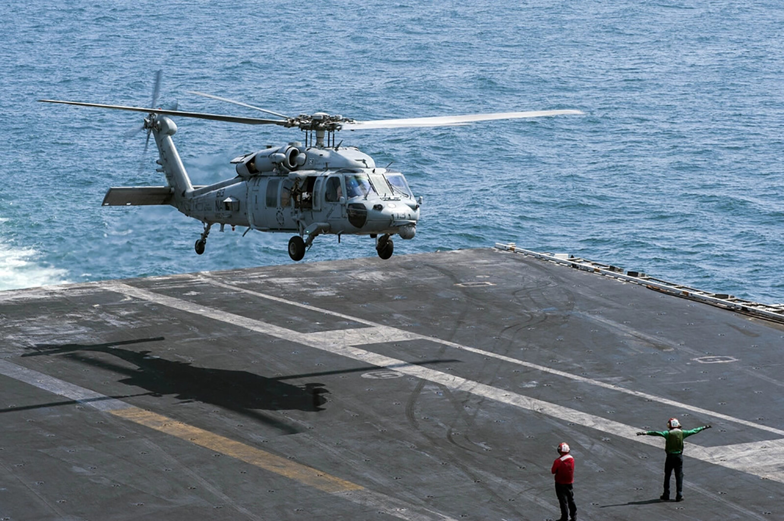 5 crew members unaccounted for after US Navy helicopter crashes off the San Diego coast