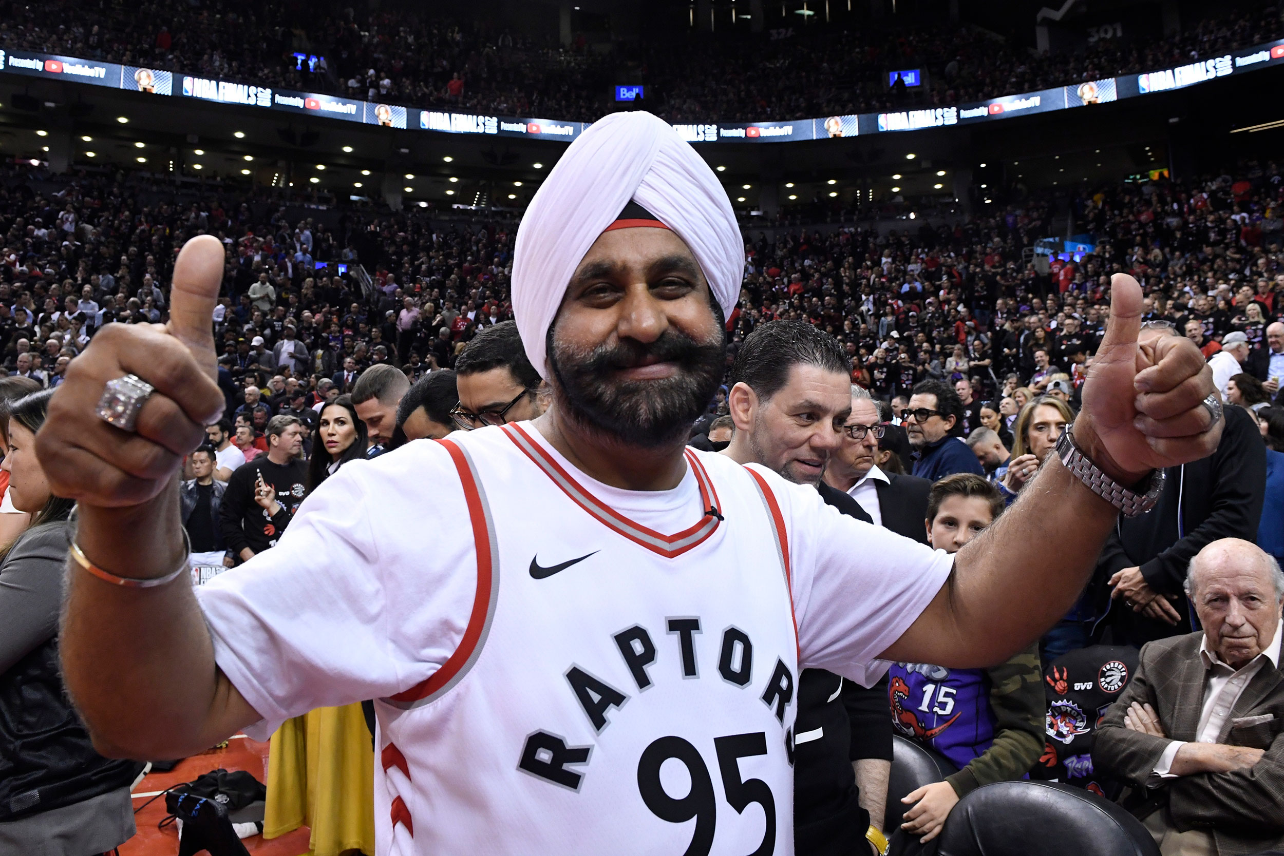 Toronto Raptors superfan Nav Bhatia to be in new gallery at the Basketball Hall of Fame