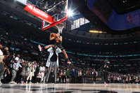 Aaron Gordon jumped over a man more than 7 feet tall and still lost the NBA Slam Dunk Contest