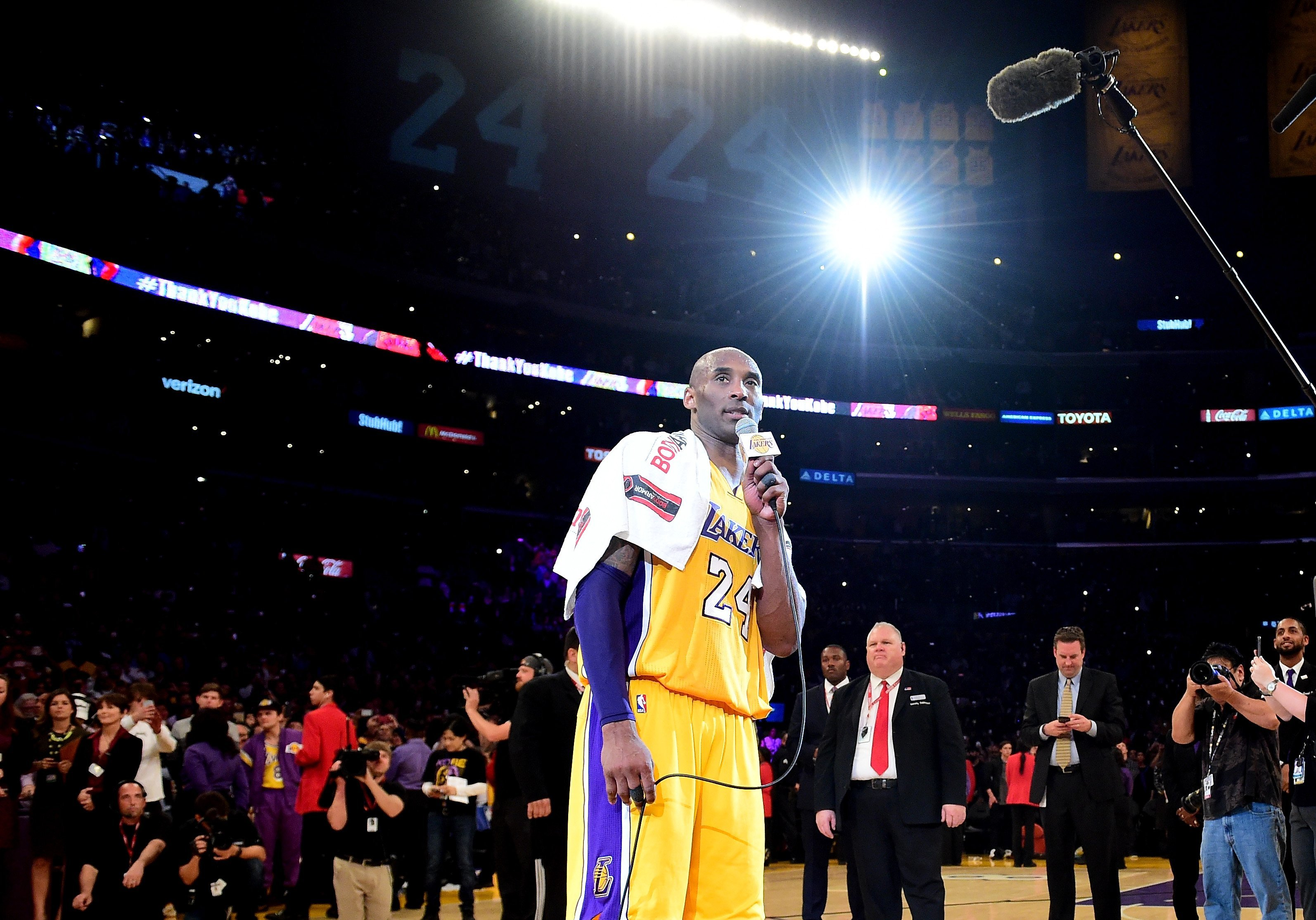 NBA postpones Lakers game as players mourn the loss of legend Kobe Bryant