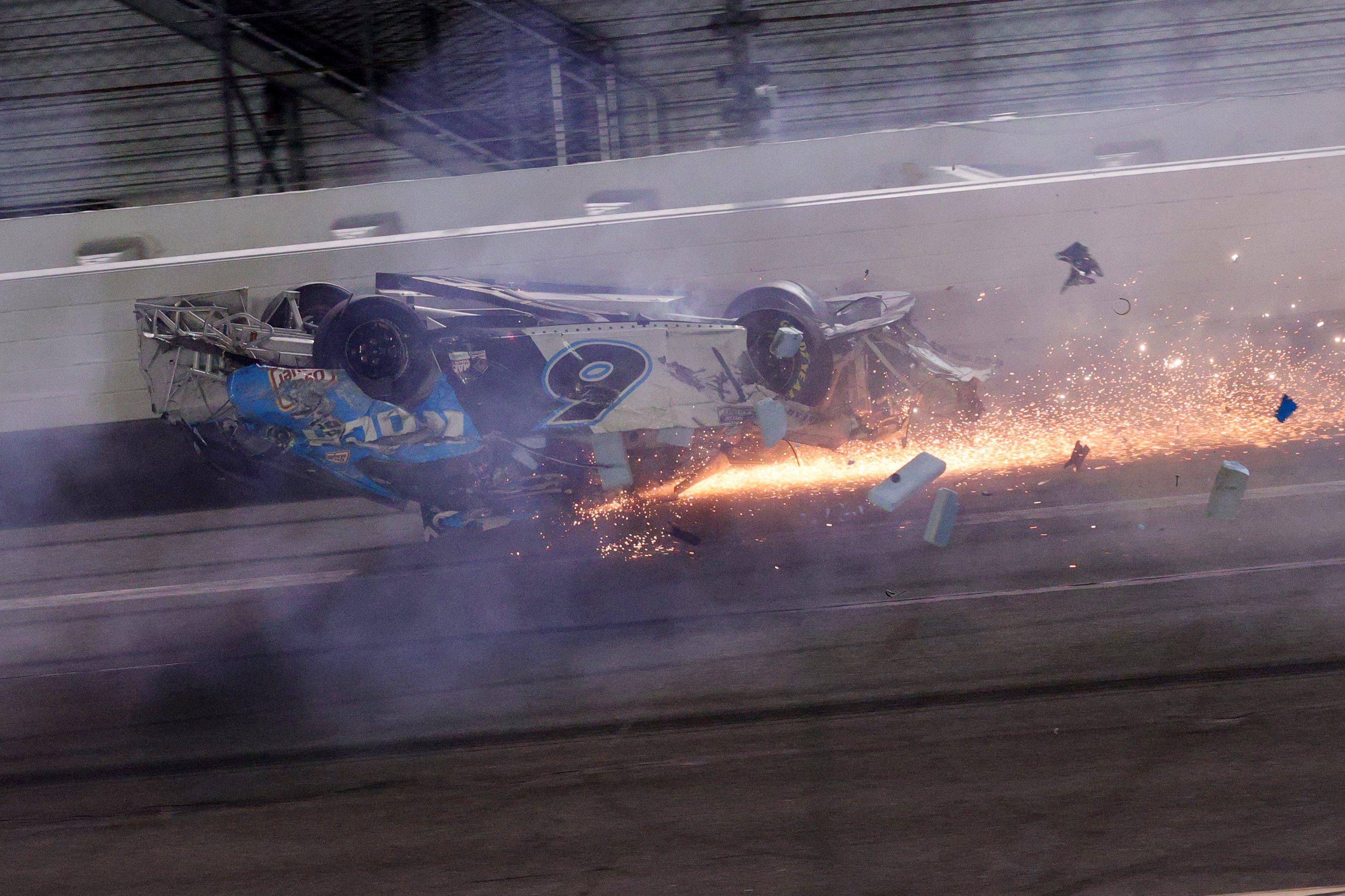 NASCAR driver Ryan Newman says Daytona 500 crash left him with a head injury