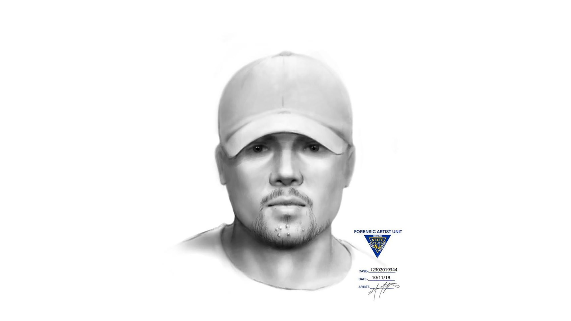 Sketch of possible witness released in kidnapping of 5-year-old girl from a New Jersey playground