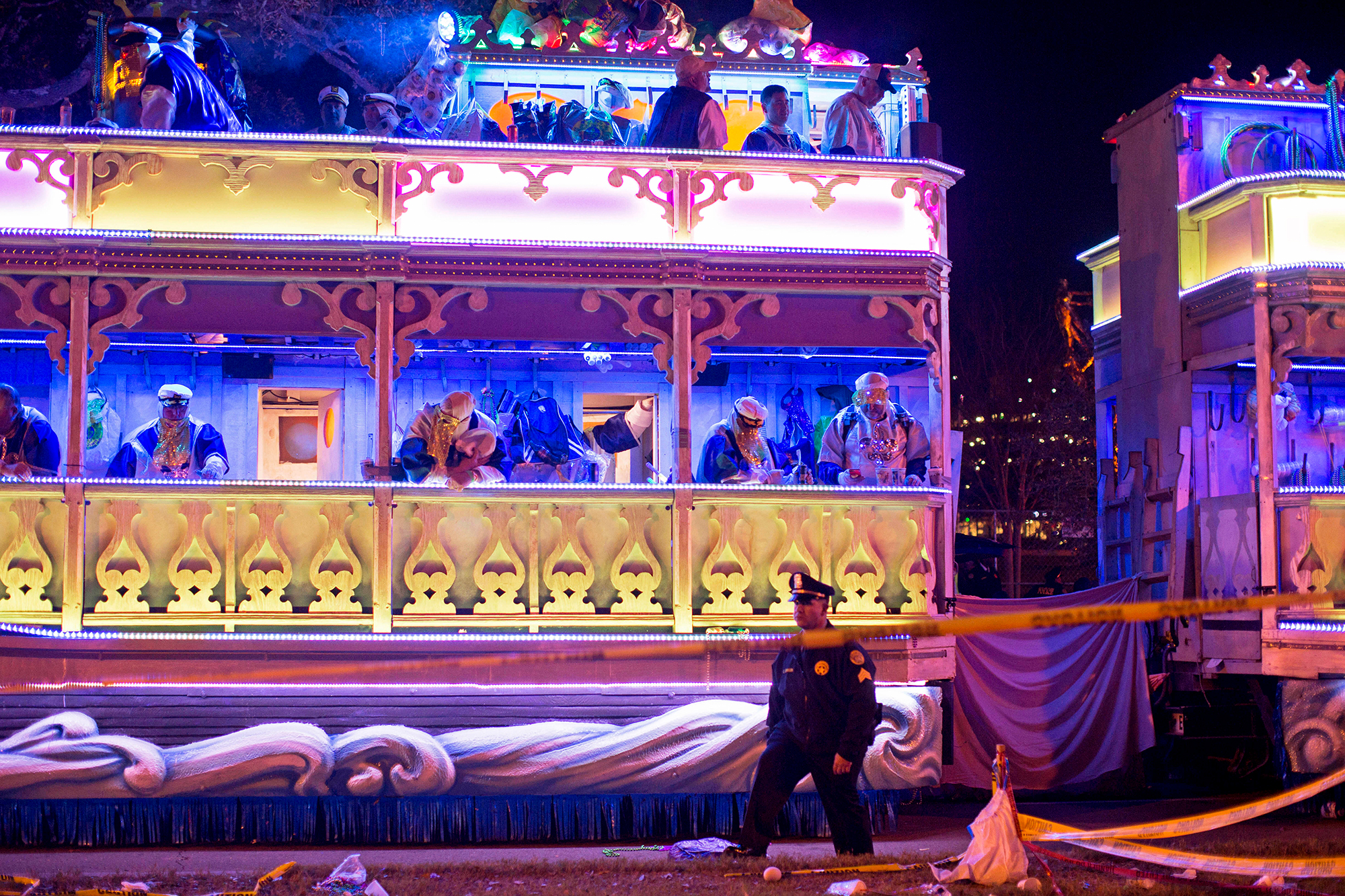 New Orleans bans tandem floats for the rest of Mardi Gras season after second deadly parade accident