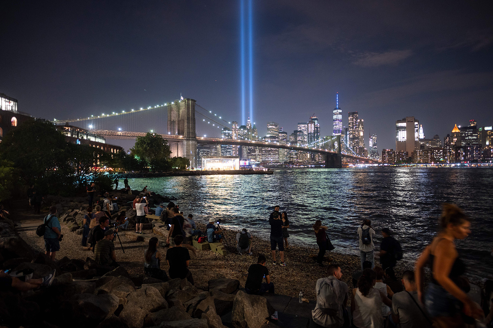 New York City's 'Tribute in Light' honoring 9/11 victims has been canceled this year over Covid-19 concerns