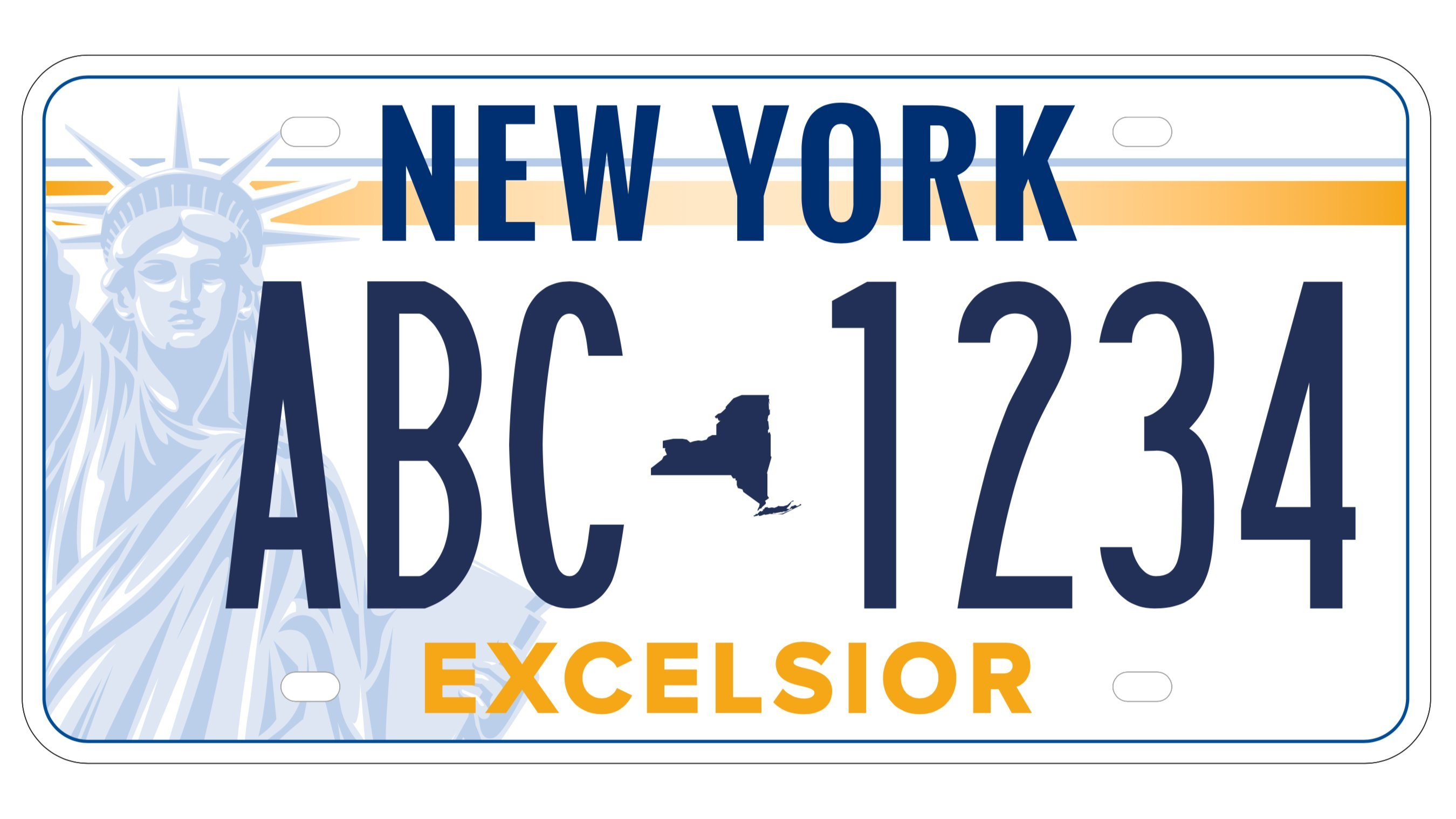 Lady Liberty's odds are looking good as New Yorkers vote on the state's new license plate design