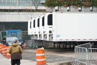 NY mayor says rumors of temporary burials in public parks are 'totally false'