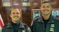 NYPD cops were partners for 6 months before learning they had something else in common: they're cousins