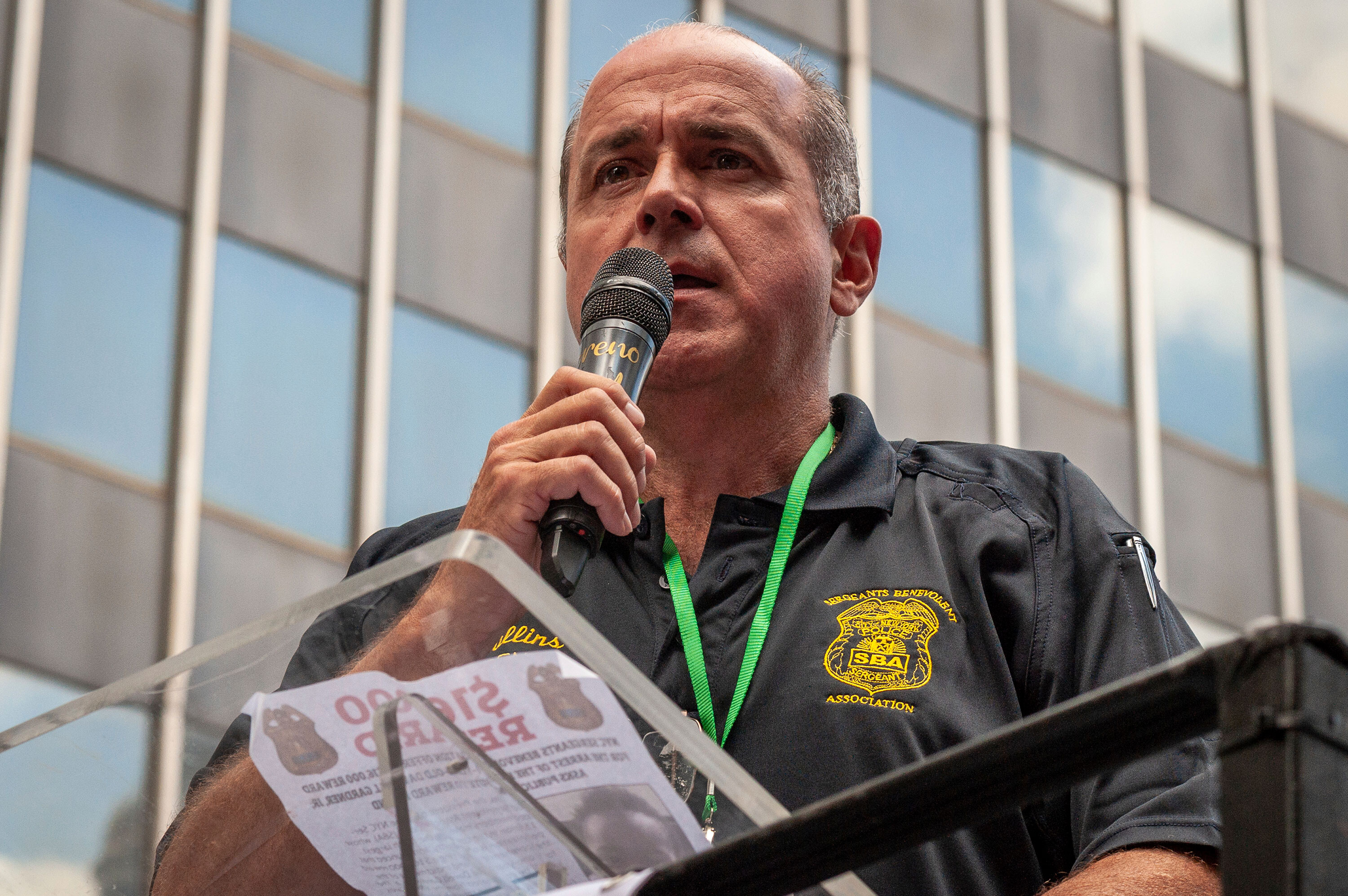 NYPD union president resigns after FBI raids his home and union office