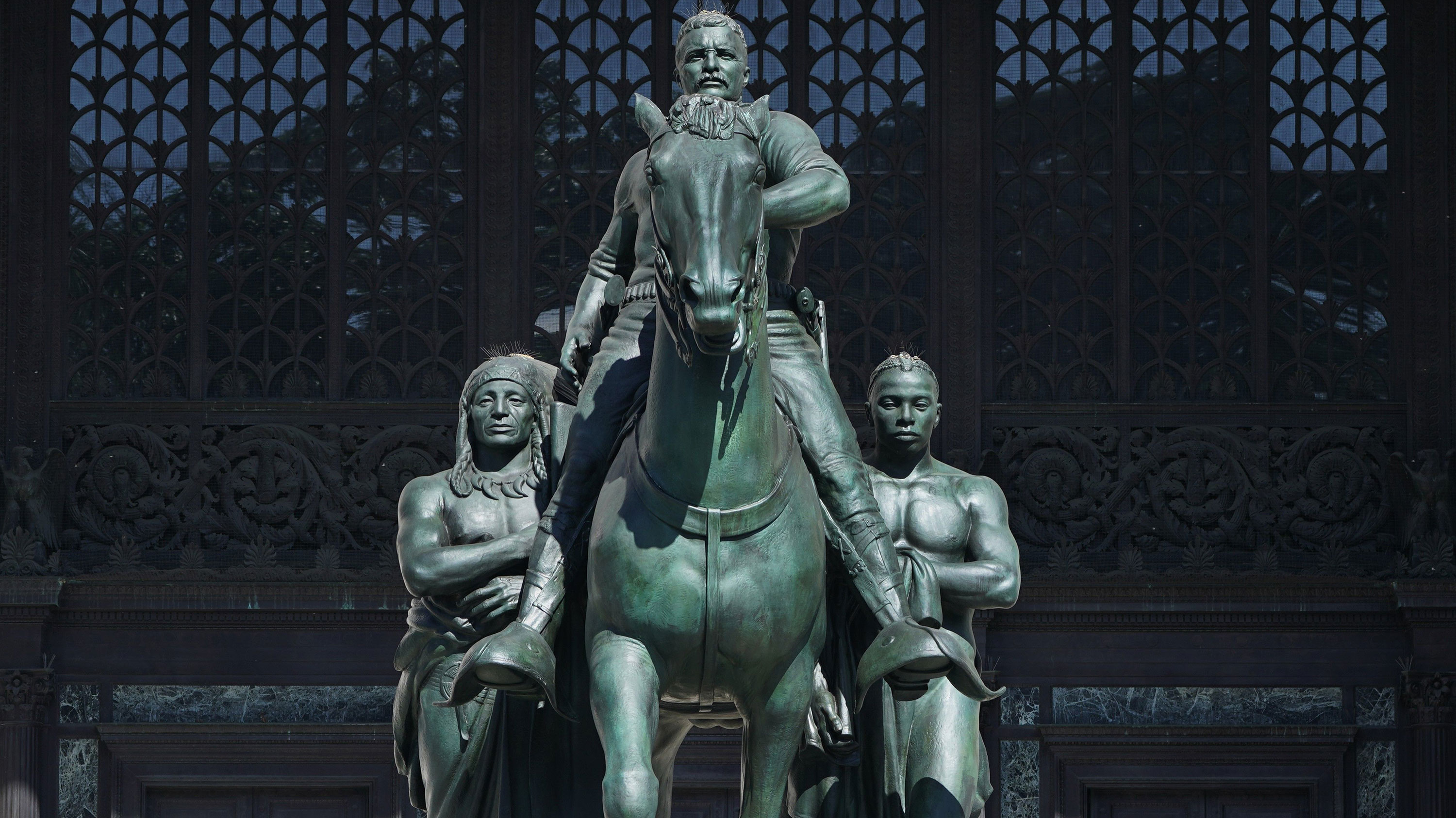 The Theodore Roosevelt statue in front of New York's Museum of Natural History will finally be removed
