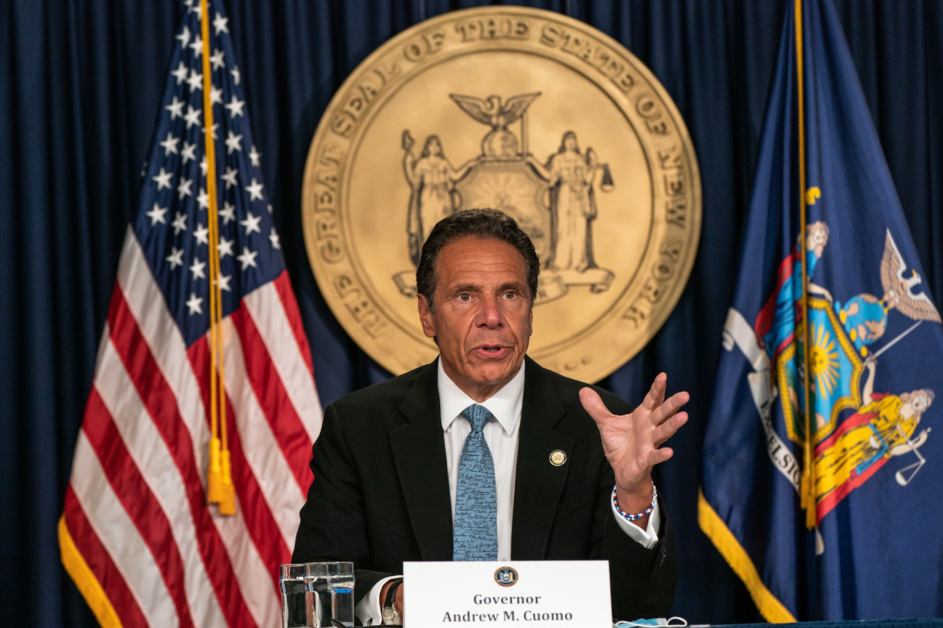 All New York schools are cleared to reopen for in-person classes, Cuomo says