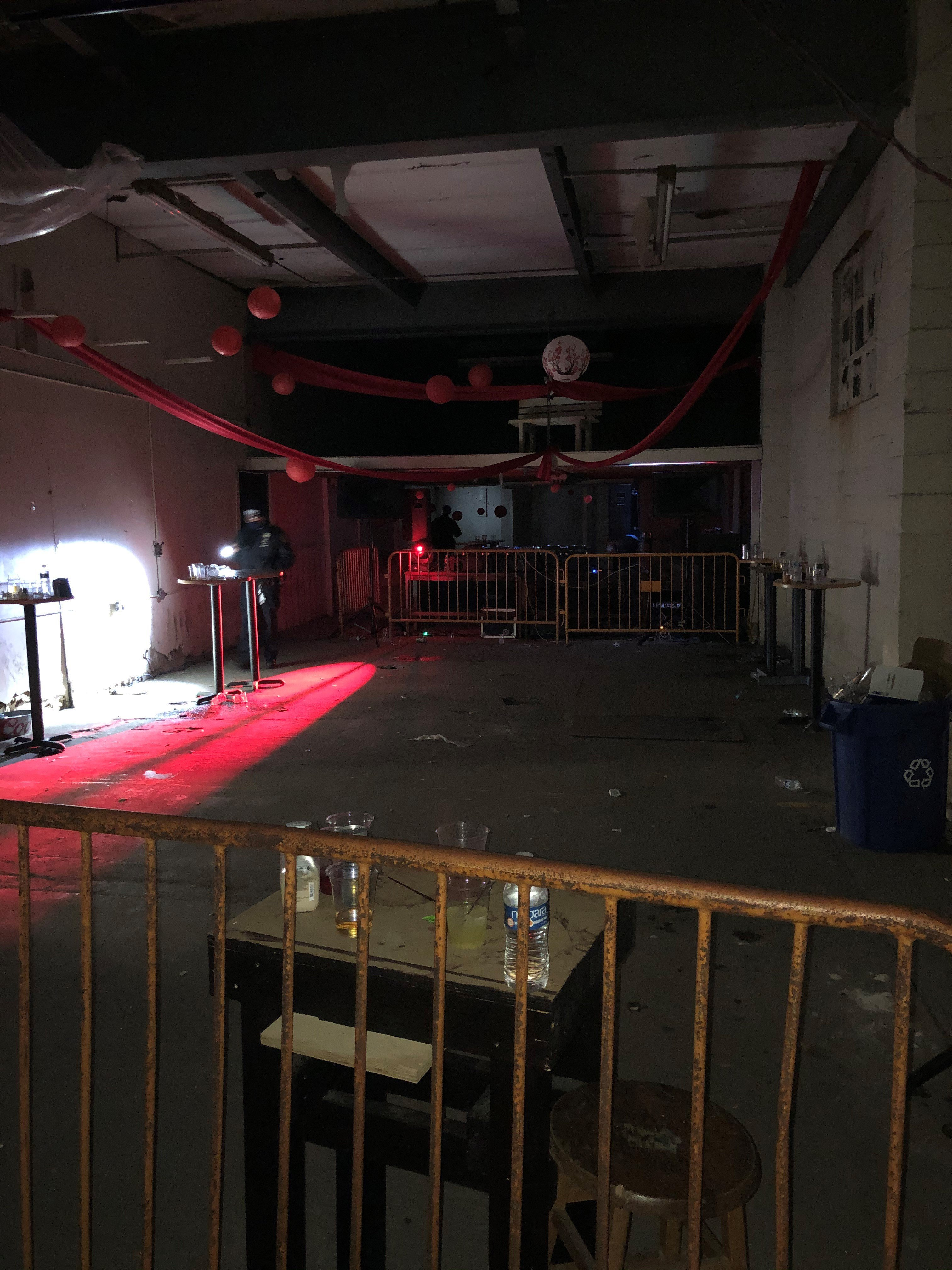 NYC deputies shut down an unlicensed warehouse club with more than 100 partygoers inside