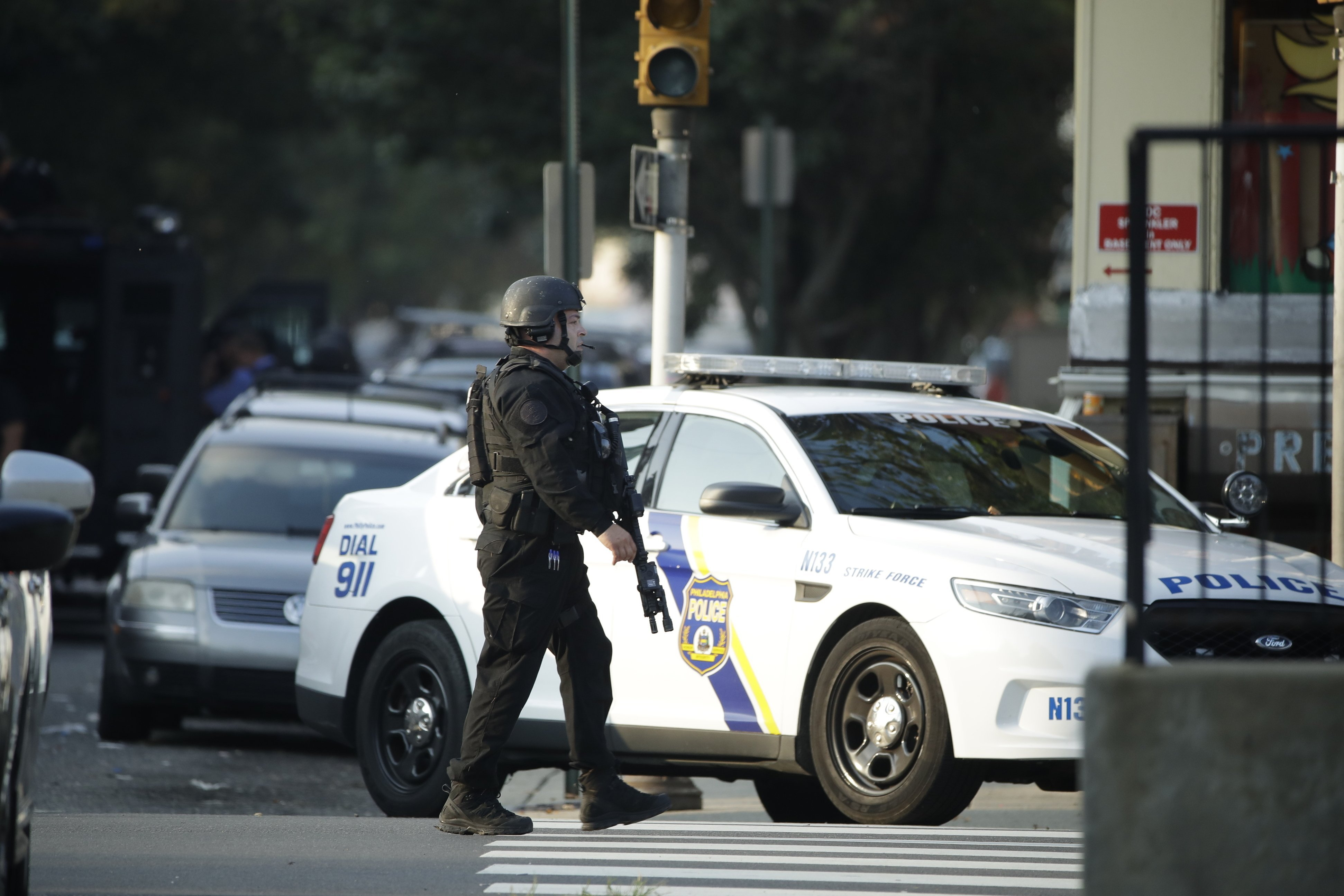 Sniper, ambush and standoffs: Officers shot in five states over the past week