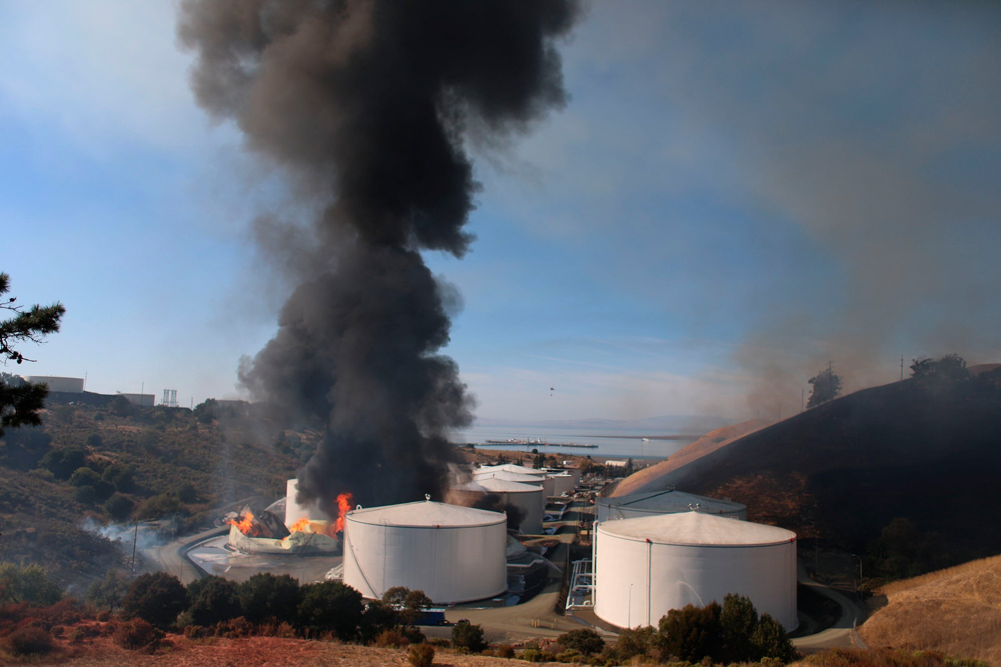 Nearly half of US oil refineries are in states hit by earthquakes and hurricanes