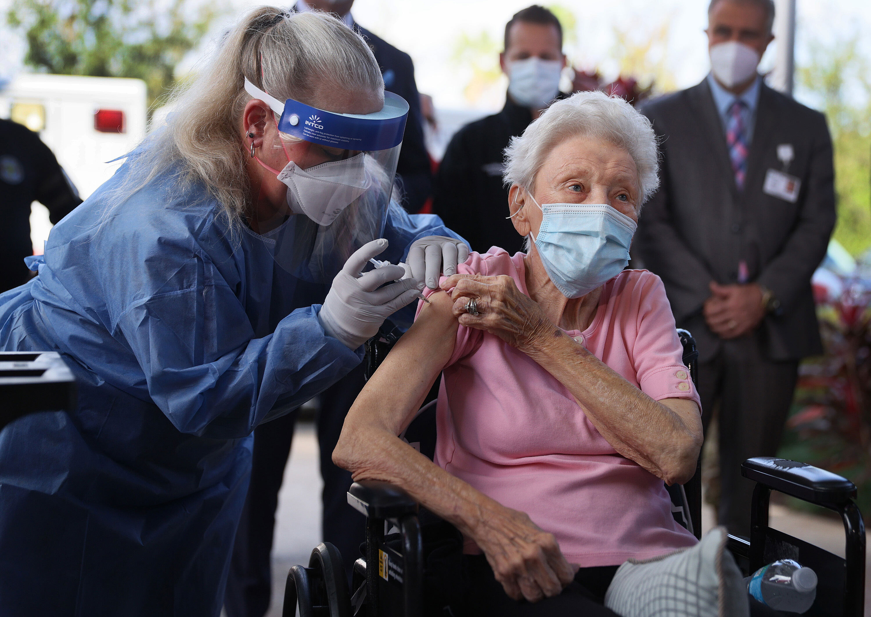 Why older people are so much more vaccinated than younger people