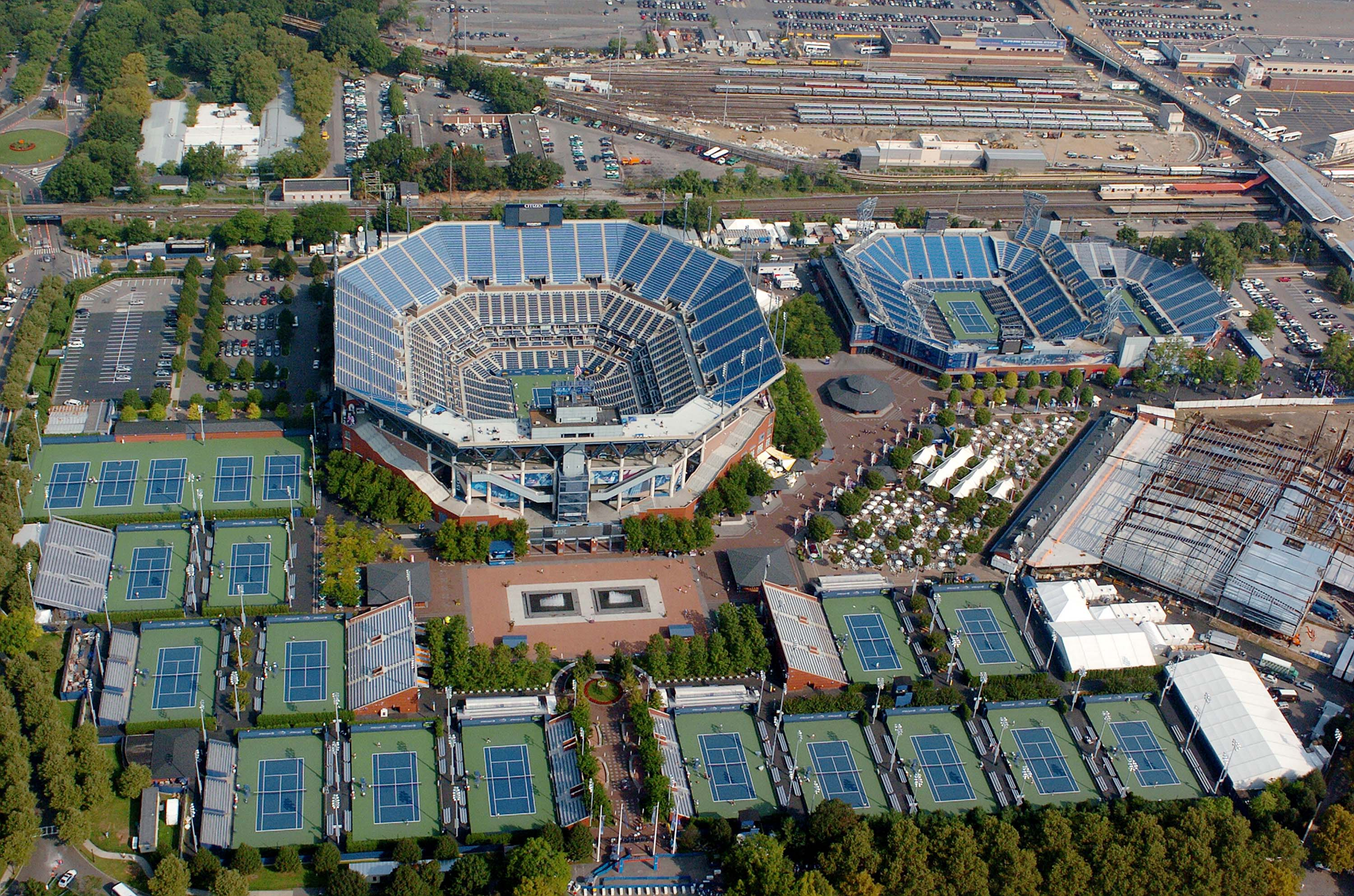 US Open tennis complex to be used as makeshift hospital in New York