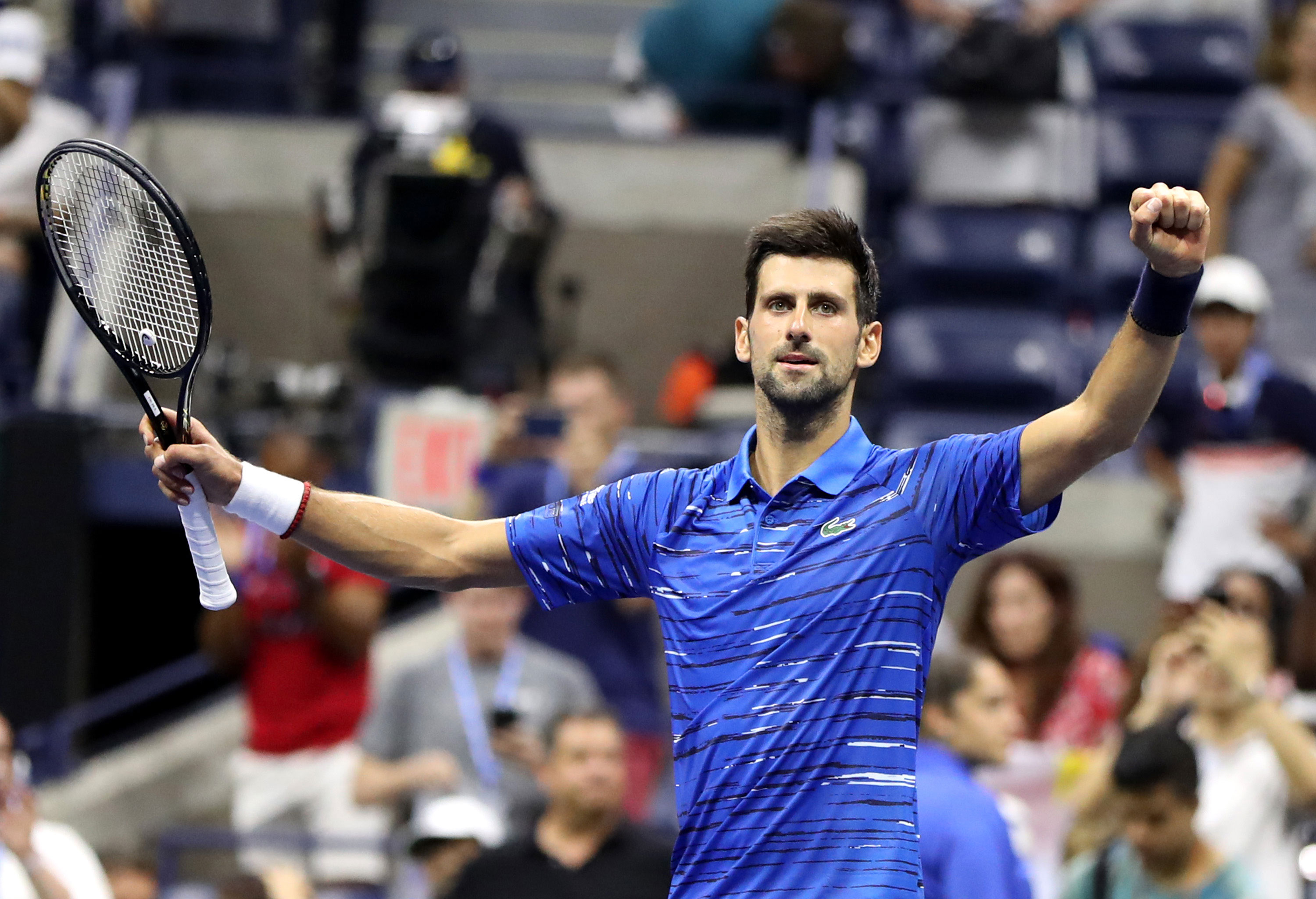 Novak Djokovic will play in the US Open after testing positive for Covid-19 in June