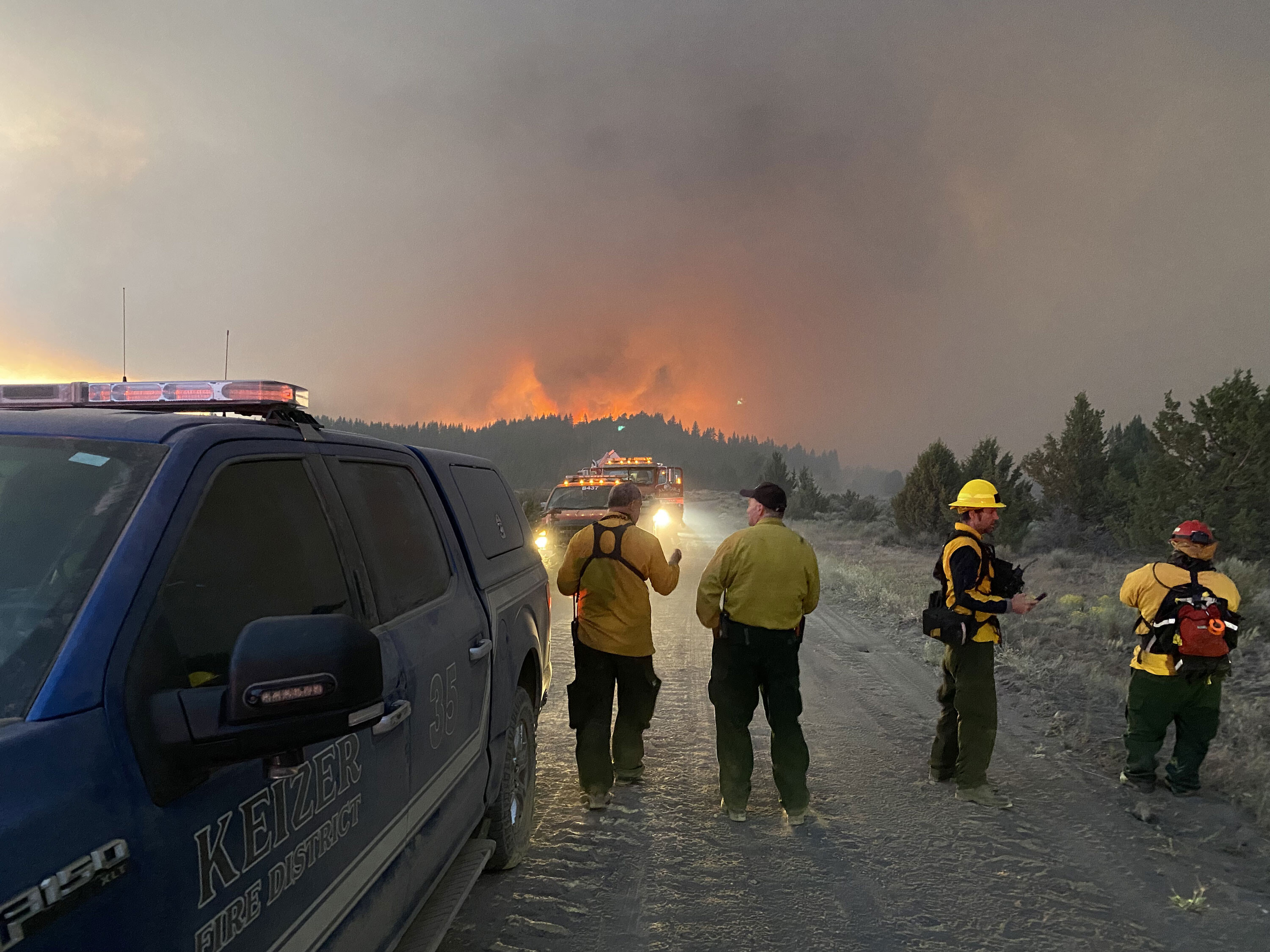Oregon's Bootleg Fire more than triples in size to 143,607 acres