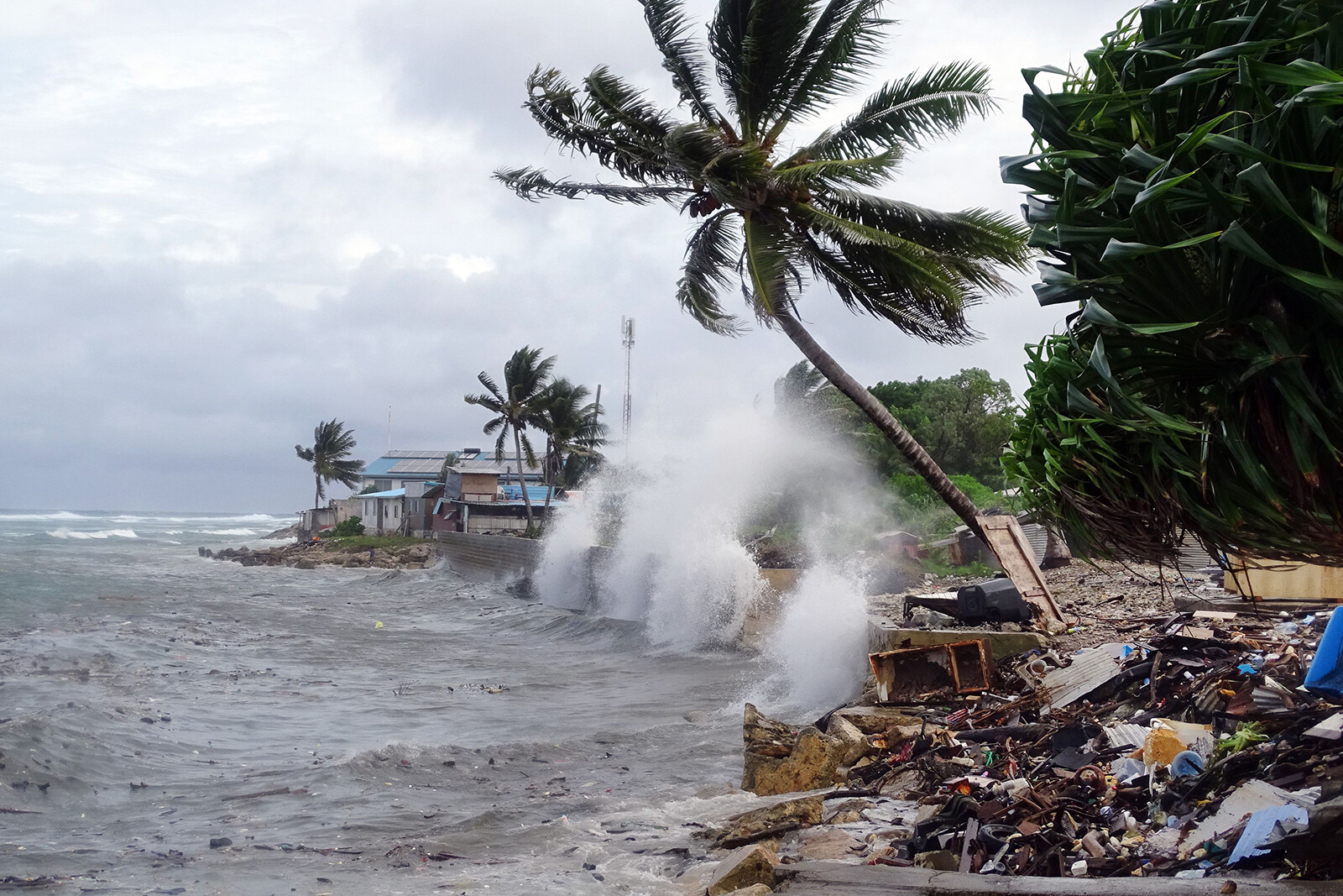 It's 'inescapable': Pacific Islanders have tried to flee the climate crisis, only to face new threats