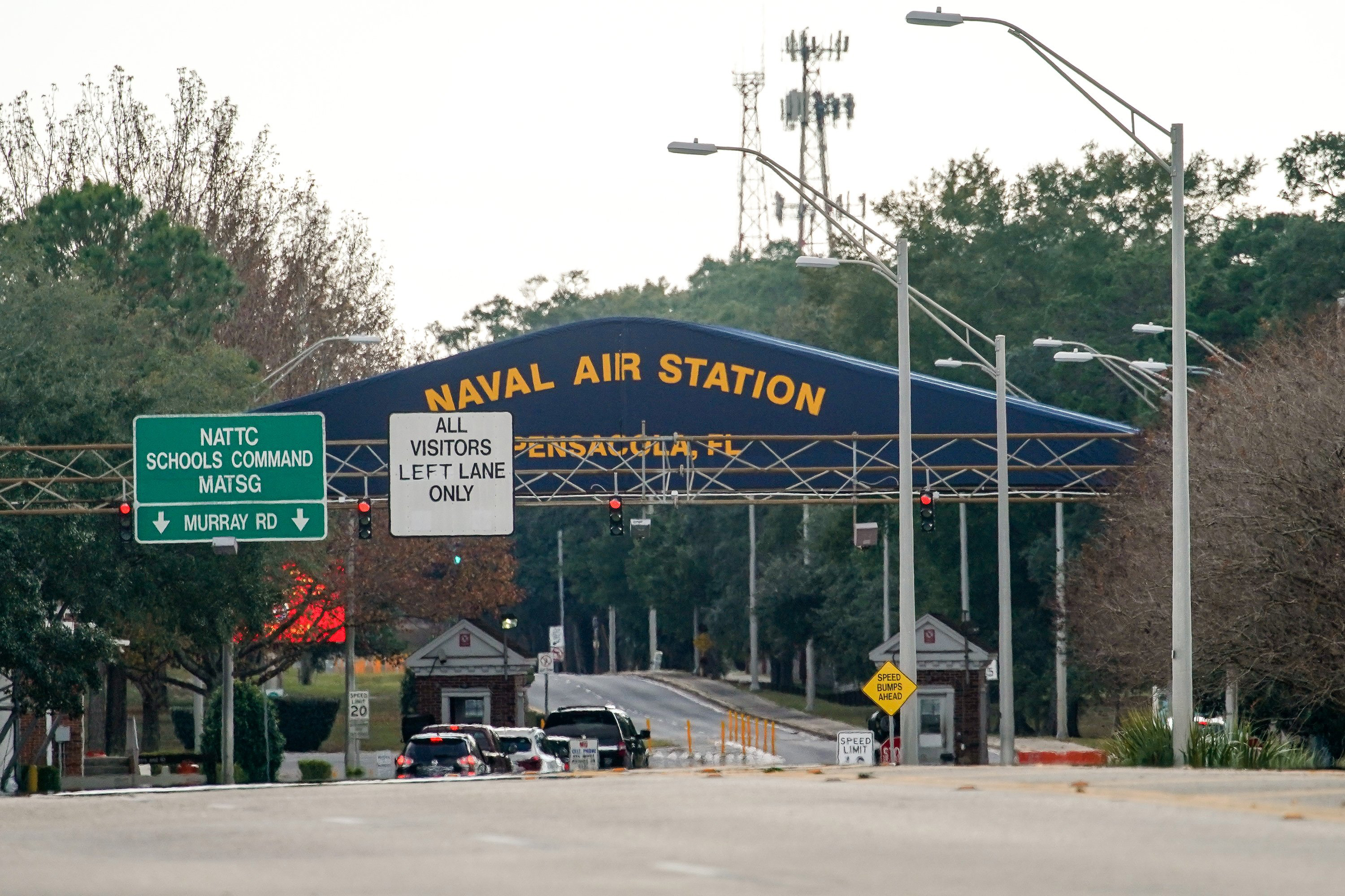US pauses training of hundreds of Saudi military personnel after deadly Pensacola shooting