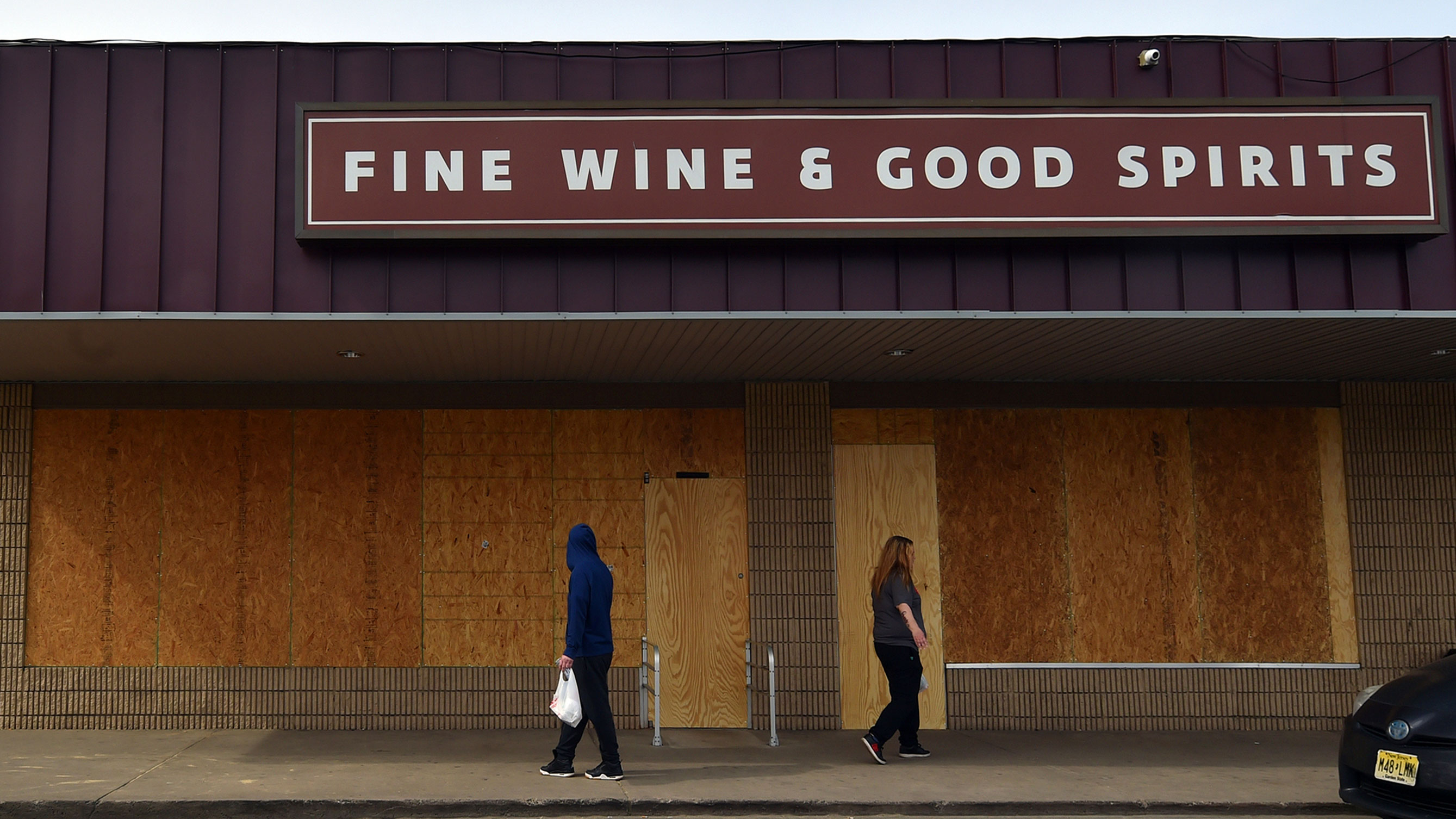 In Pennsylvania you can buy liquor and wine again online, but only if you're lucky