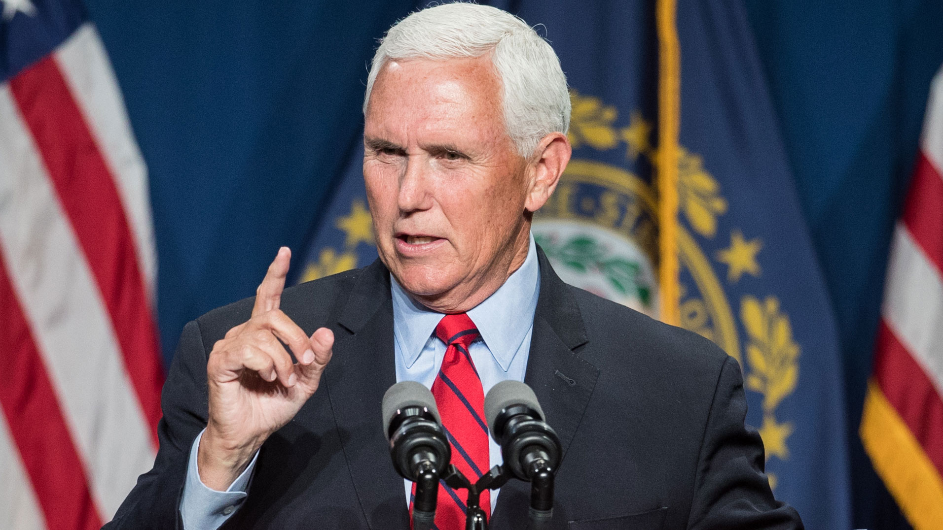 Pence faces hecklers shouting 'traitor' at religious conservative conference