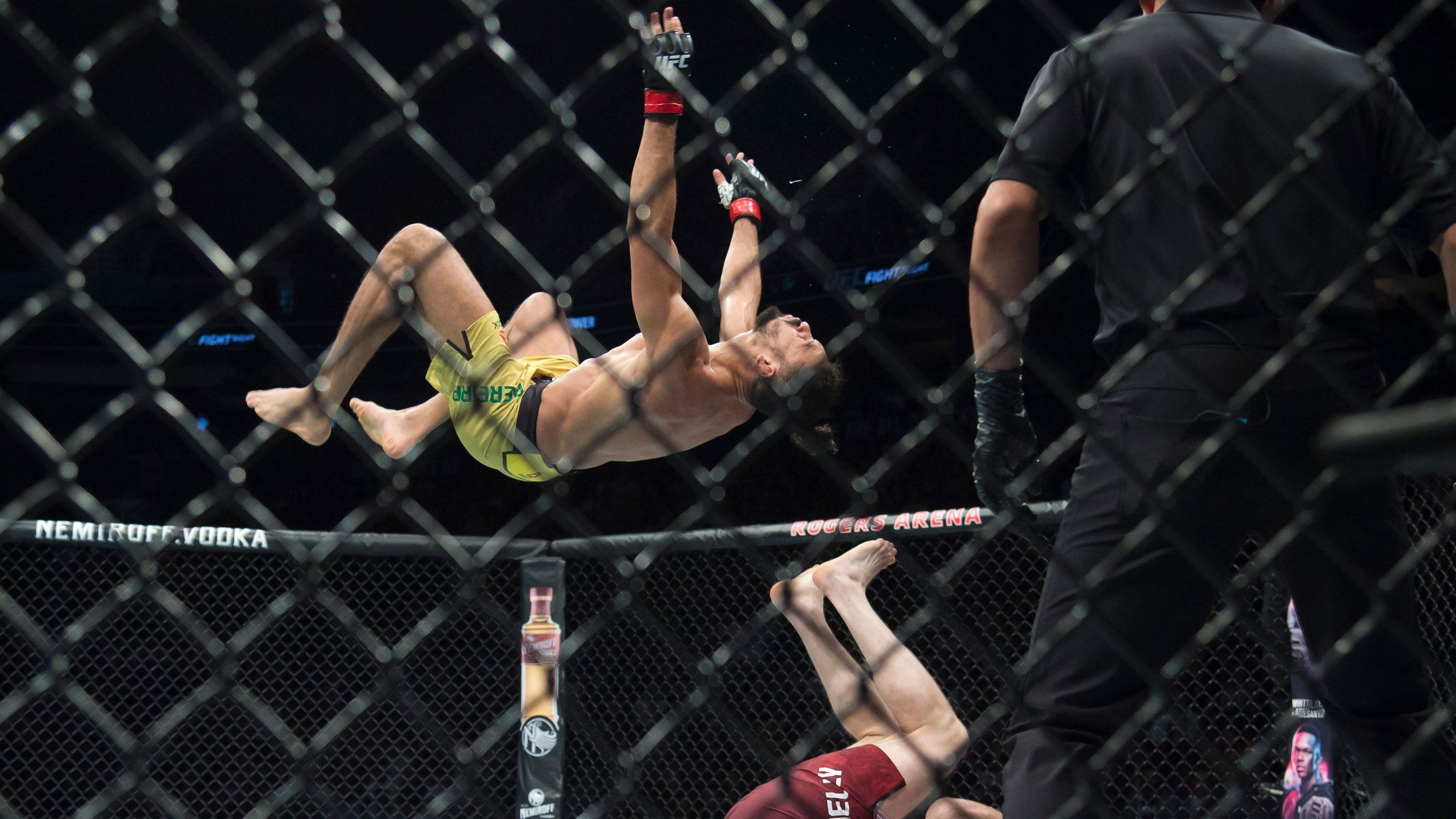 Michel Pereira was basically flying in his UFC fight against Tristan Connelly
