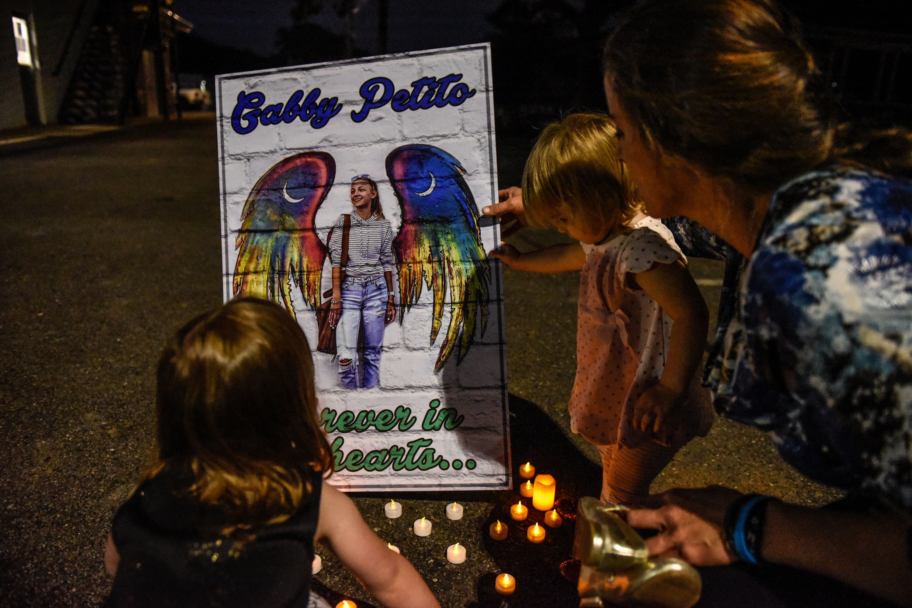 Gabby Petito's parents travel to Wyoming to bring her remains home
