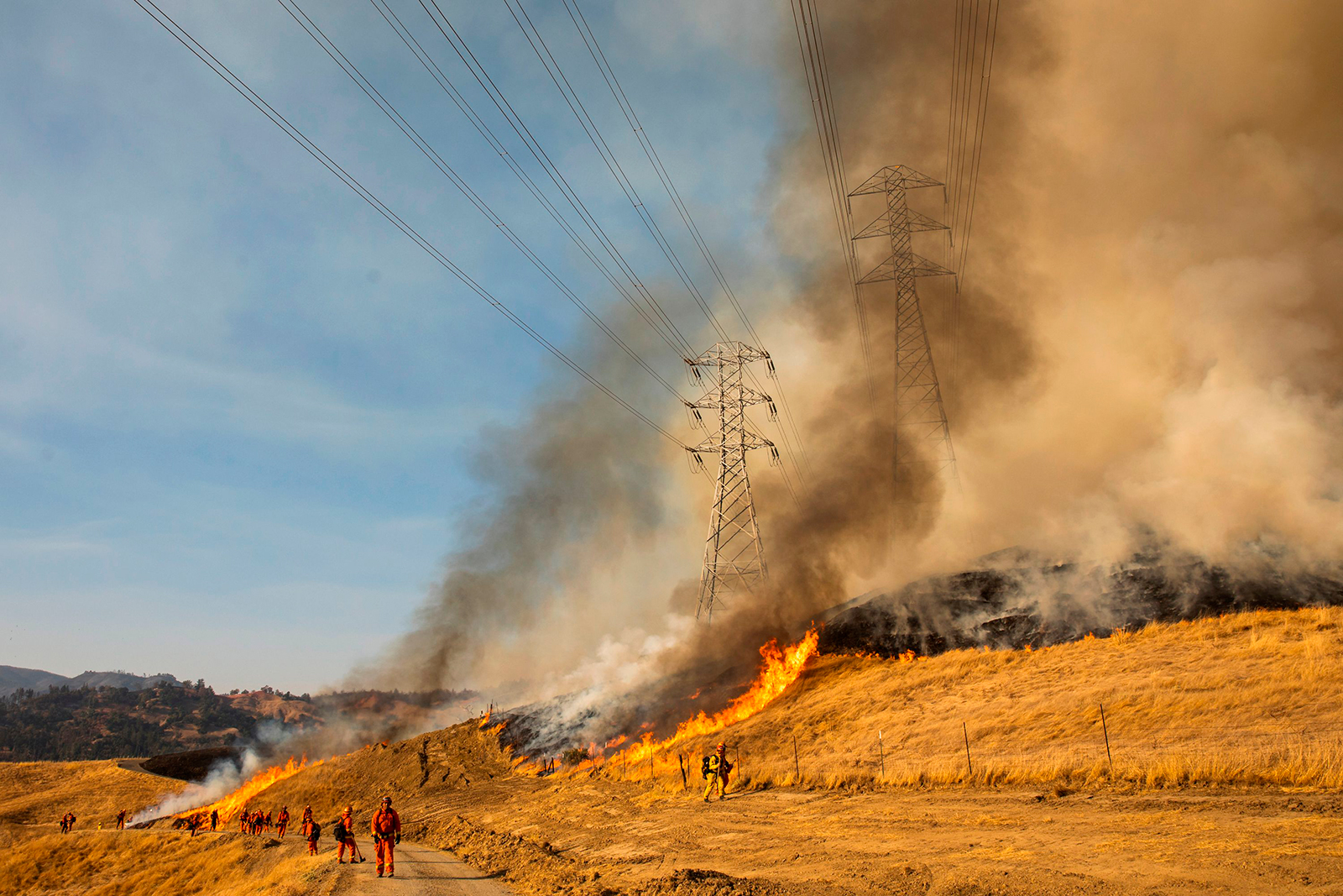 California utility PG&E facing criminal charges over the state's largest 2019 wildfire