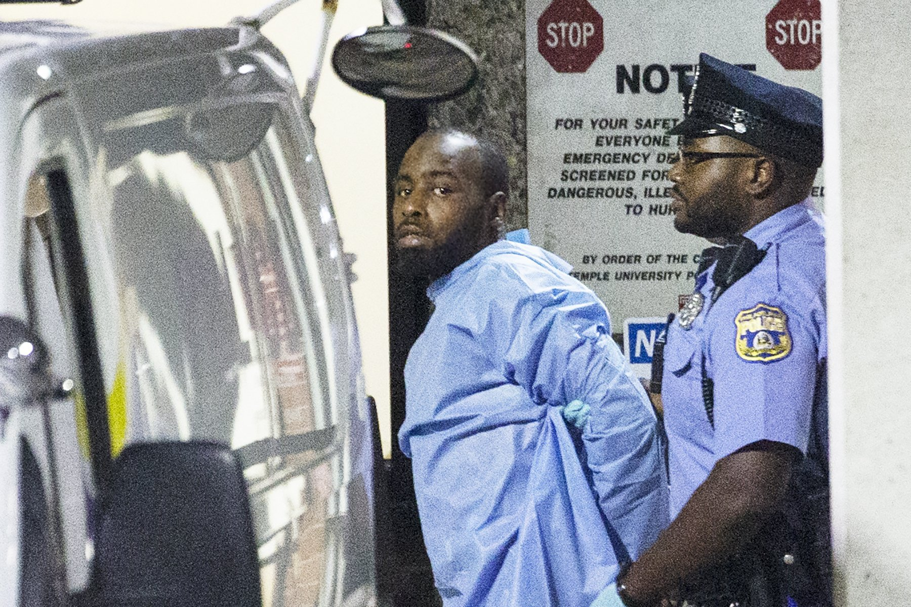 Attempted murder charges filed against man accused of shooting 6 Philadelphia cops