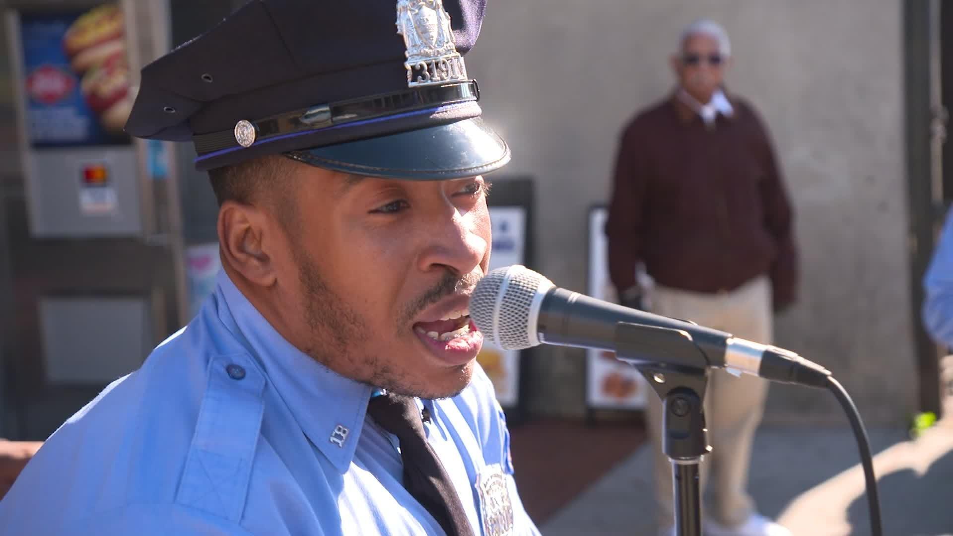 Singing cops use karaoke to fight crime in West Philadelphia