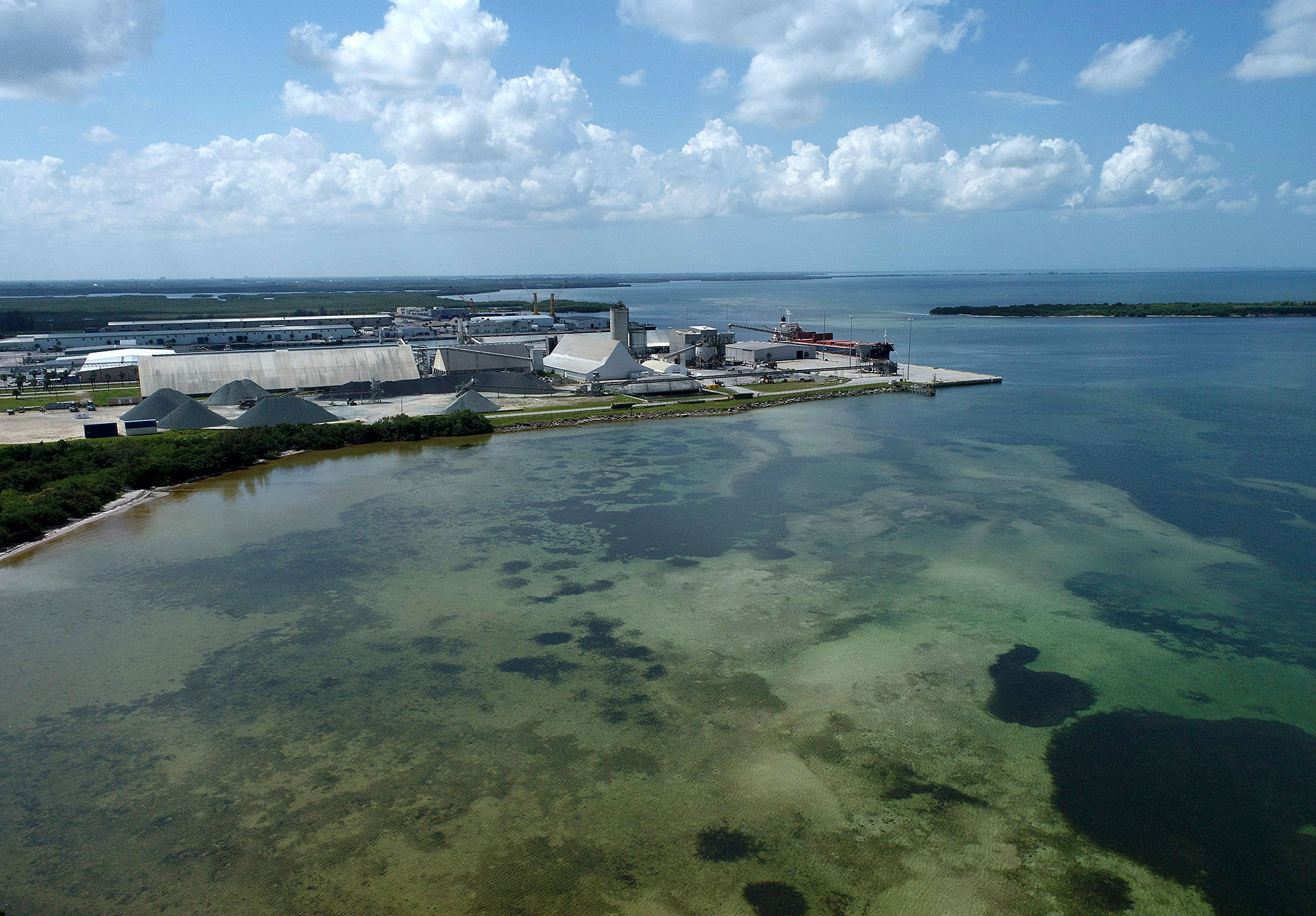 Wastewater from Piney Point has Tampa Bay on edge for possible red tide, algae bloom