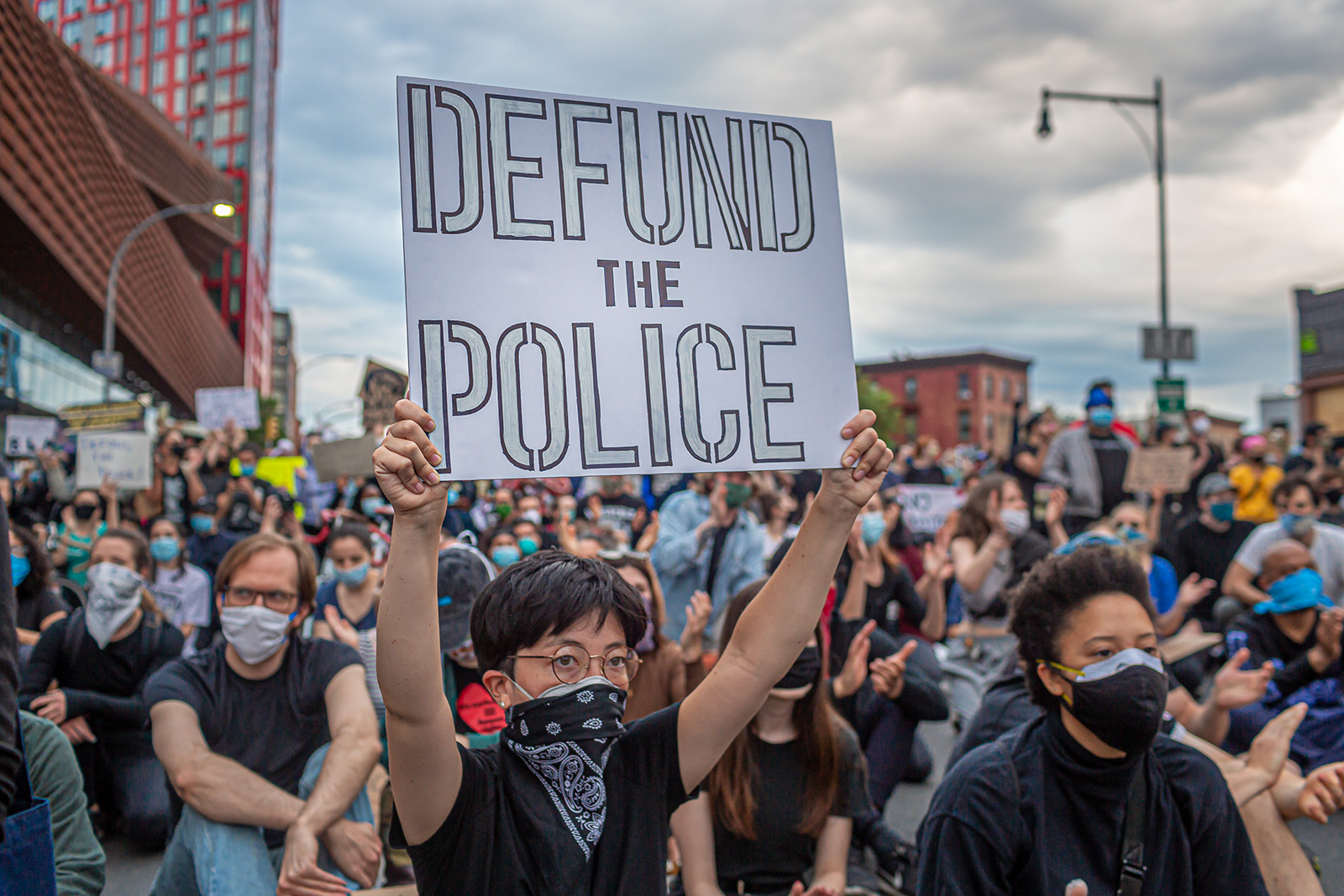 Crime is surging in US cities. Some say defunding the police will actually make it fall