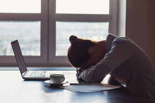 Image for 1 in 4 American workers has thought about quitting over COVID-19 stress, poll says