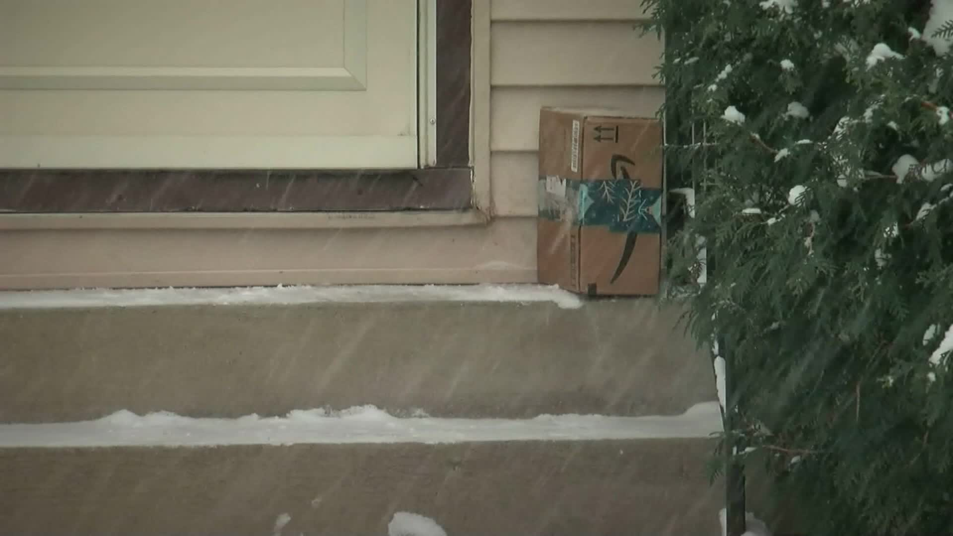 A porch pirate stole a package from a home, then threw shade with a snarky thank-you note