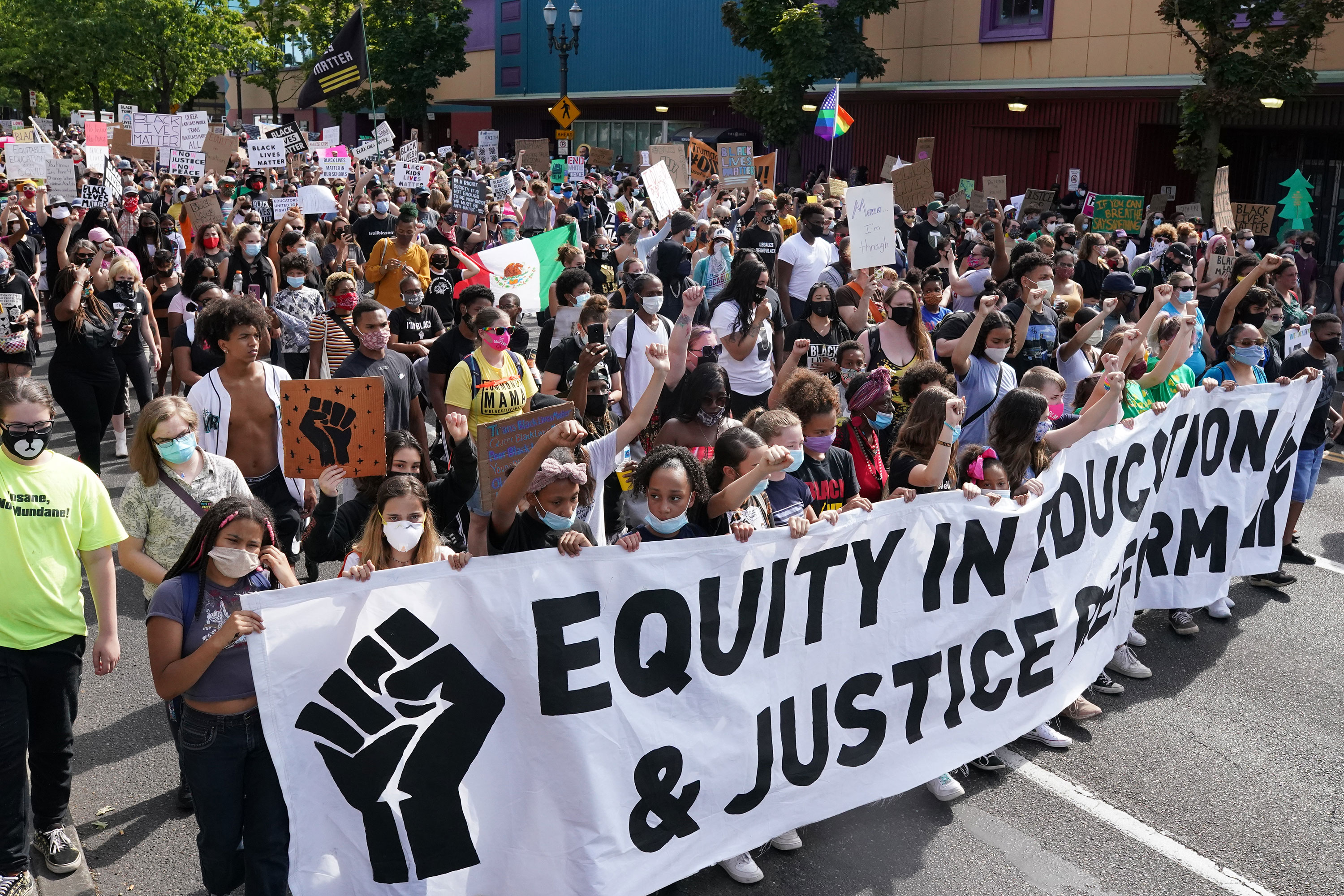 Peaceful Portland protesters will not be prosecuted to avoid 'irreparable harm,' DA announces