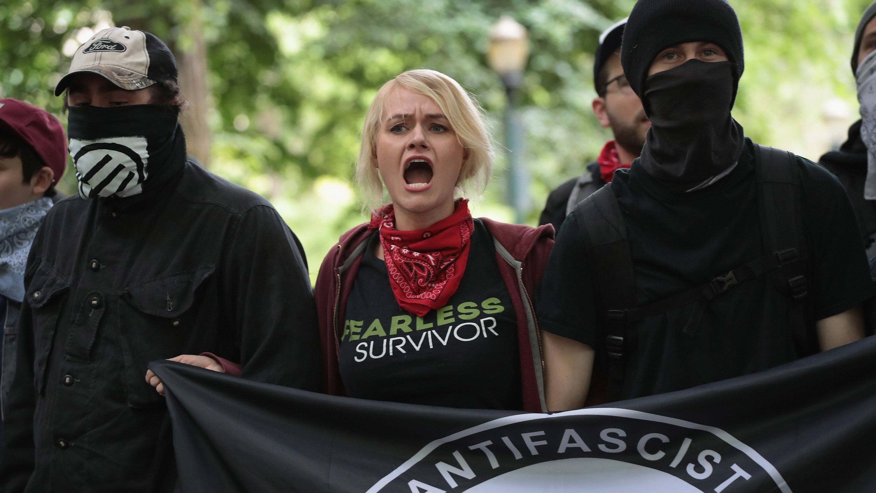 At least 3 arrested in dueling protests between Antifa and far-right groups in Portland, Oregon