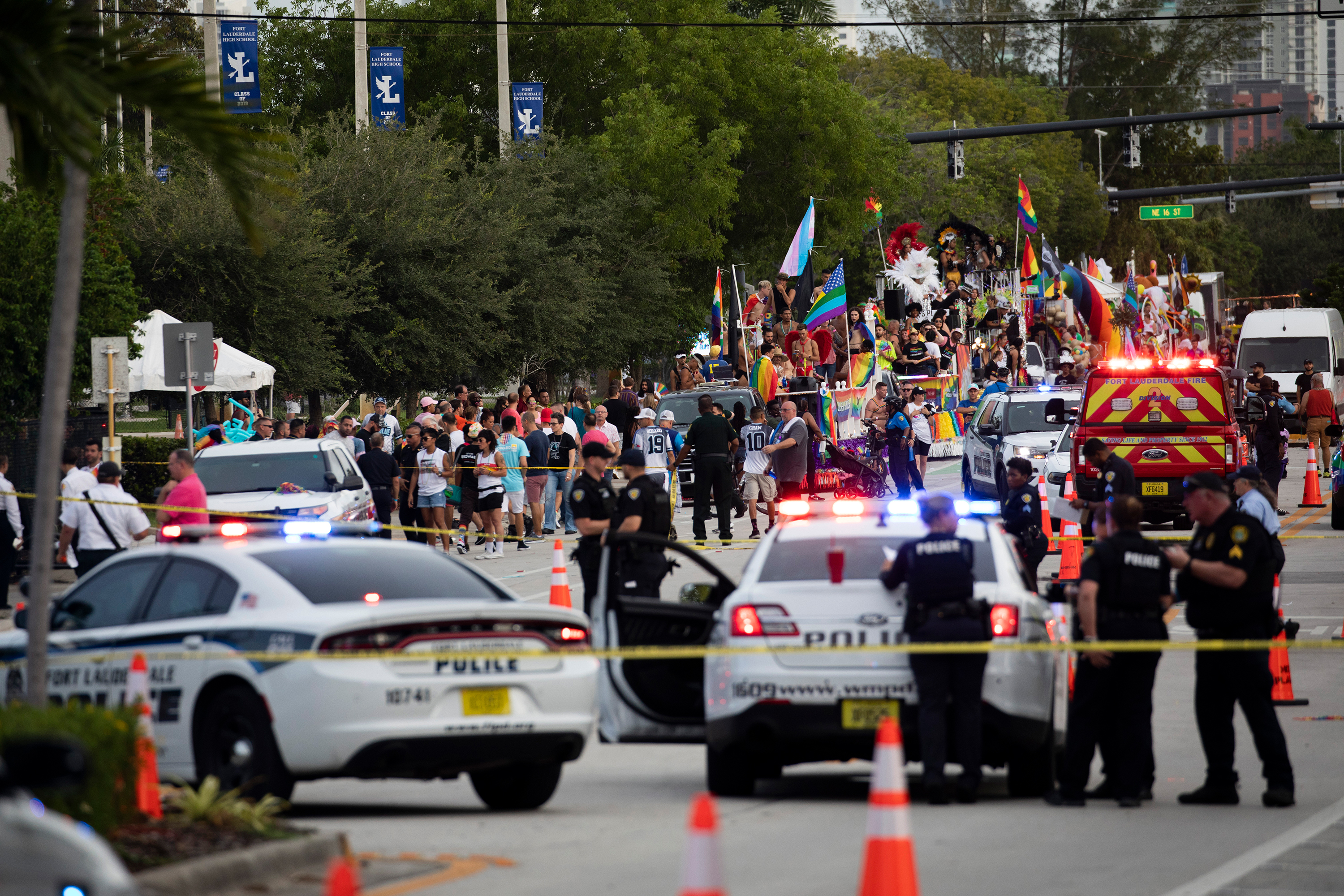 'Tragic accident' leaves 1 dead when a truck hit pedestrians at a Florida Pride parade