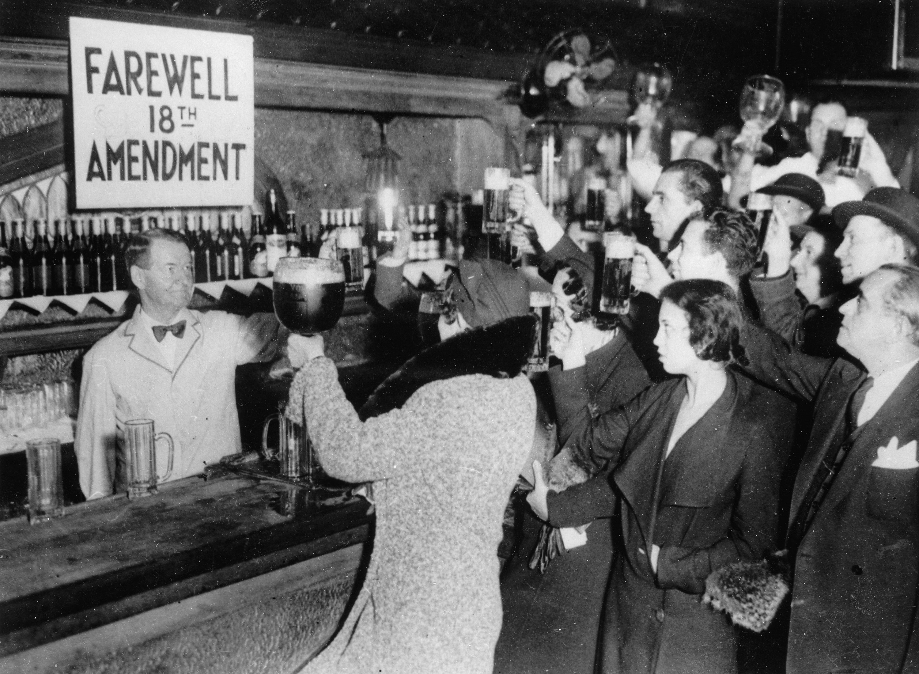 On this day in 1933, America ended prohibition