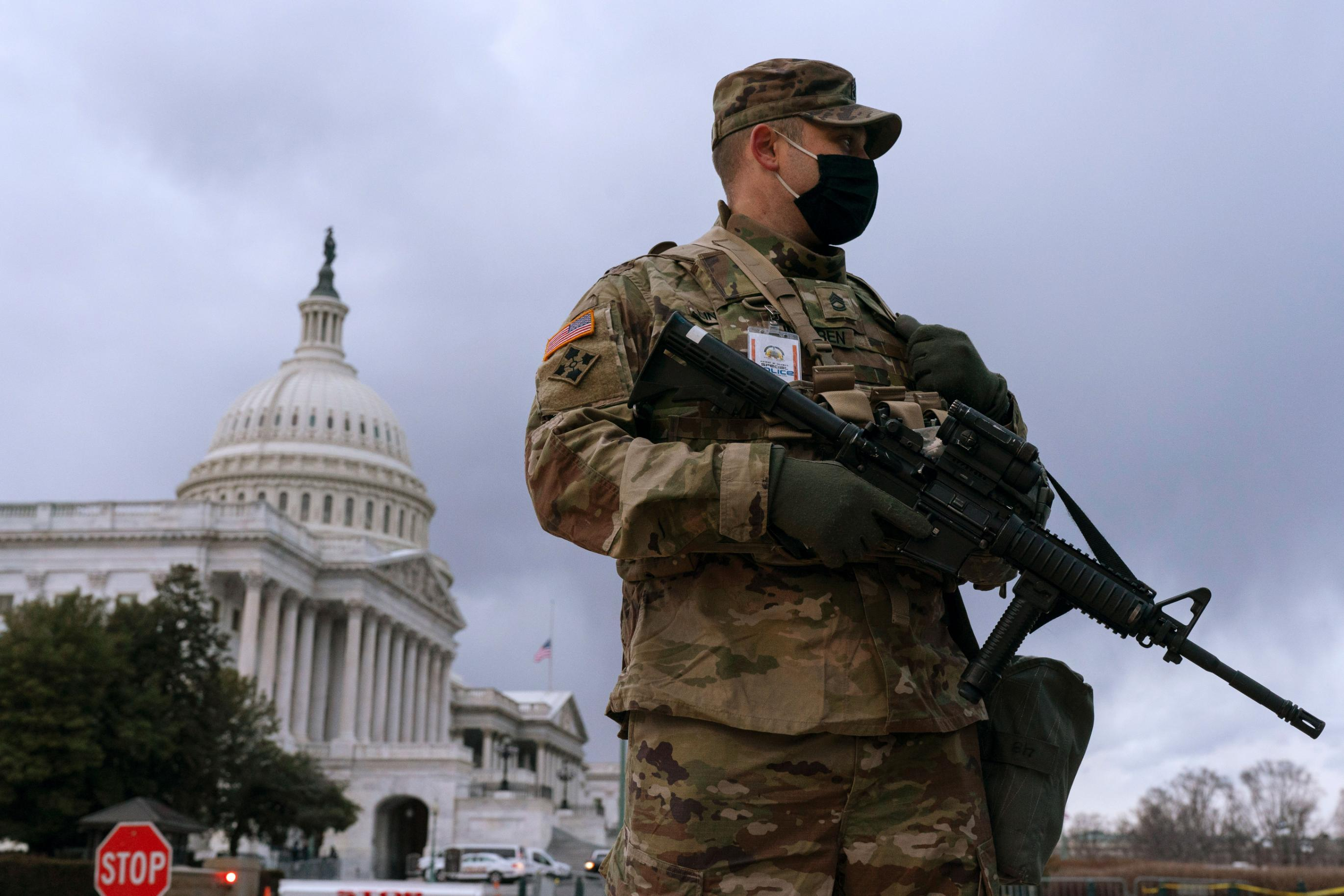 Tight security at capitols across the country as Joe Biden is inaugurated