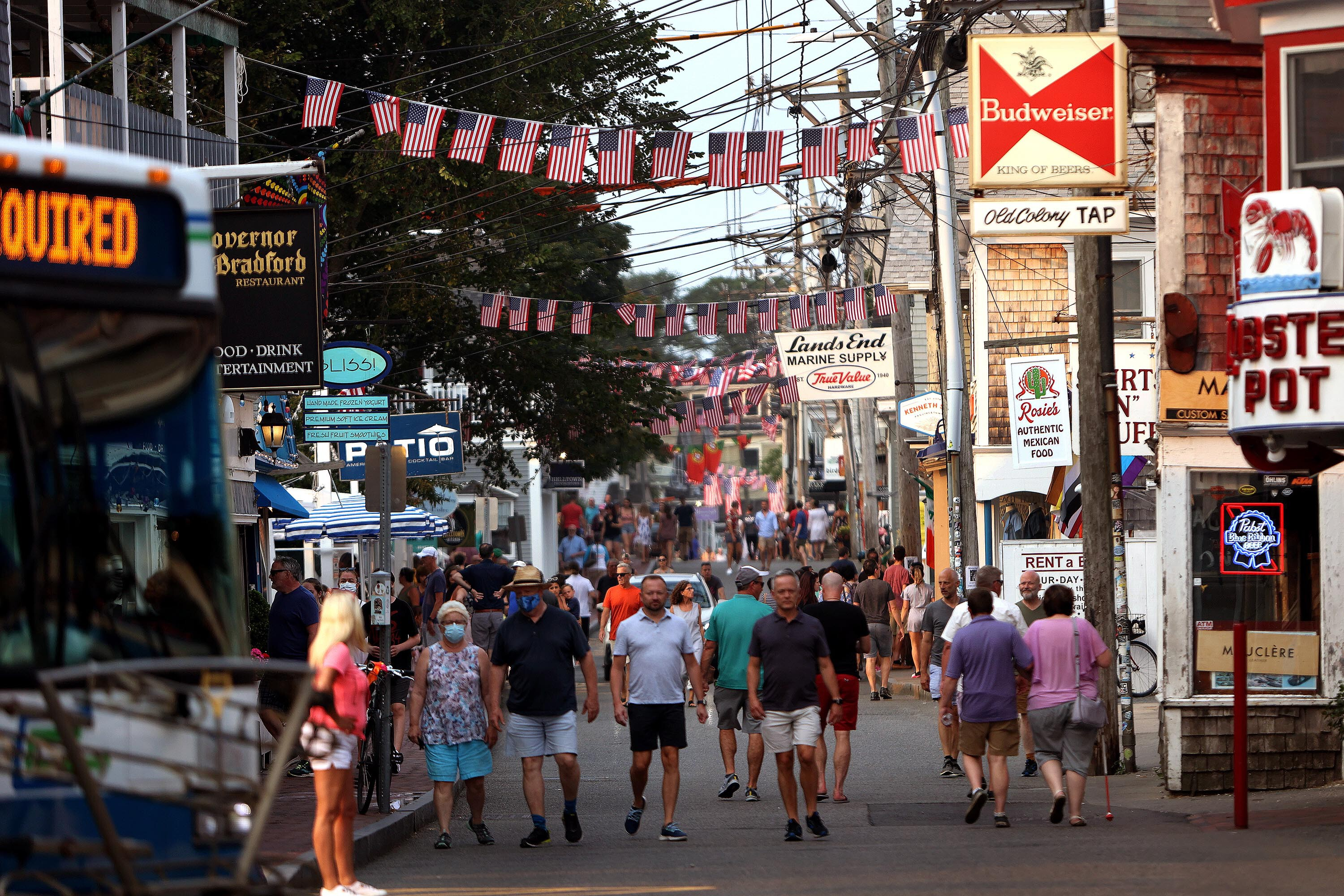 Provincetown issues a new mask mandate amid Covid-19 case surge after Fourth of July