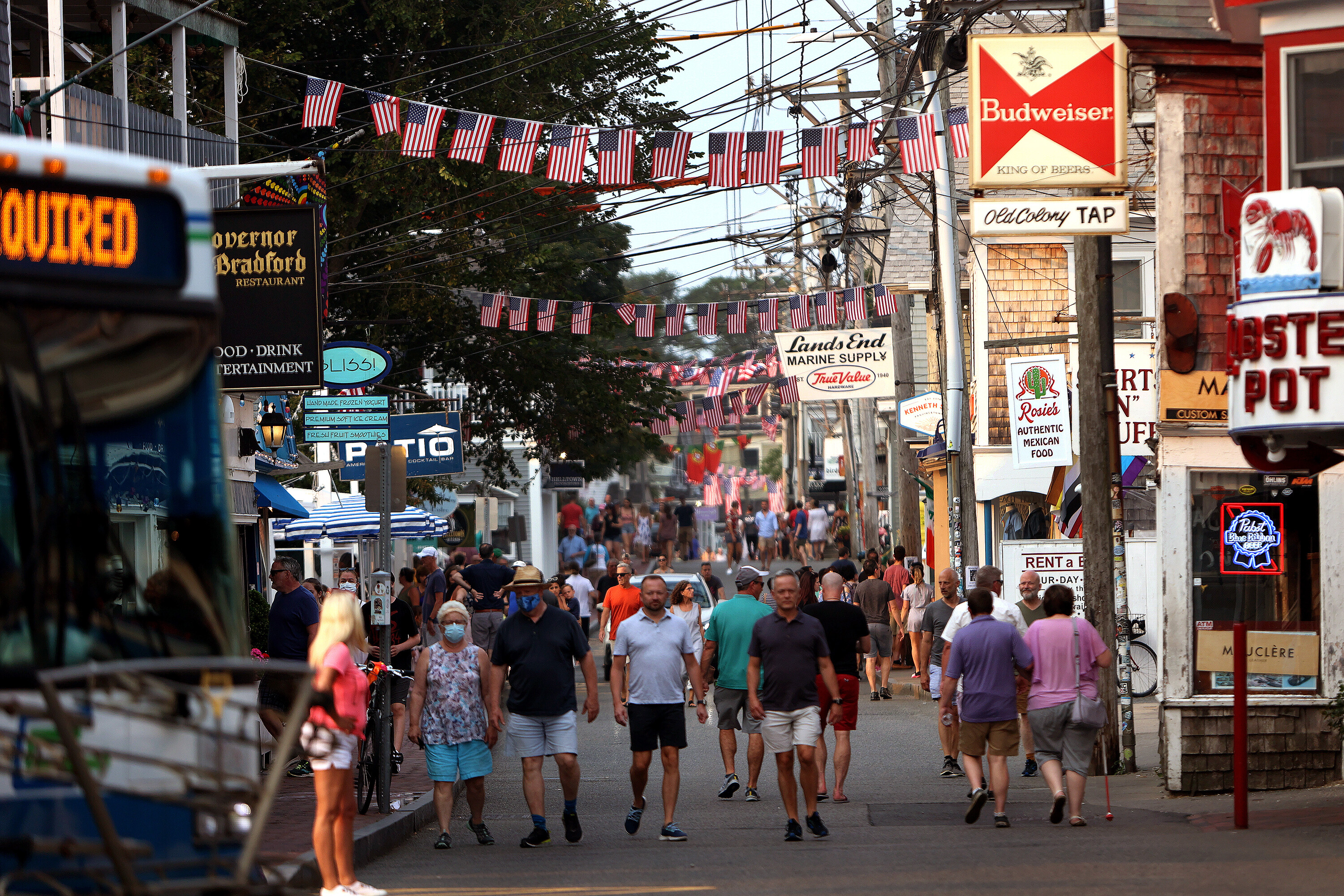 A Covid-19 outbreak in Provincetown helped change the CDC's mask guidance. Here's what residents learned and how they're responding
