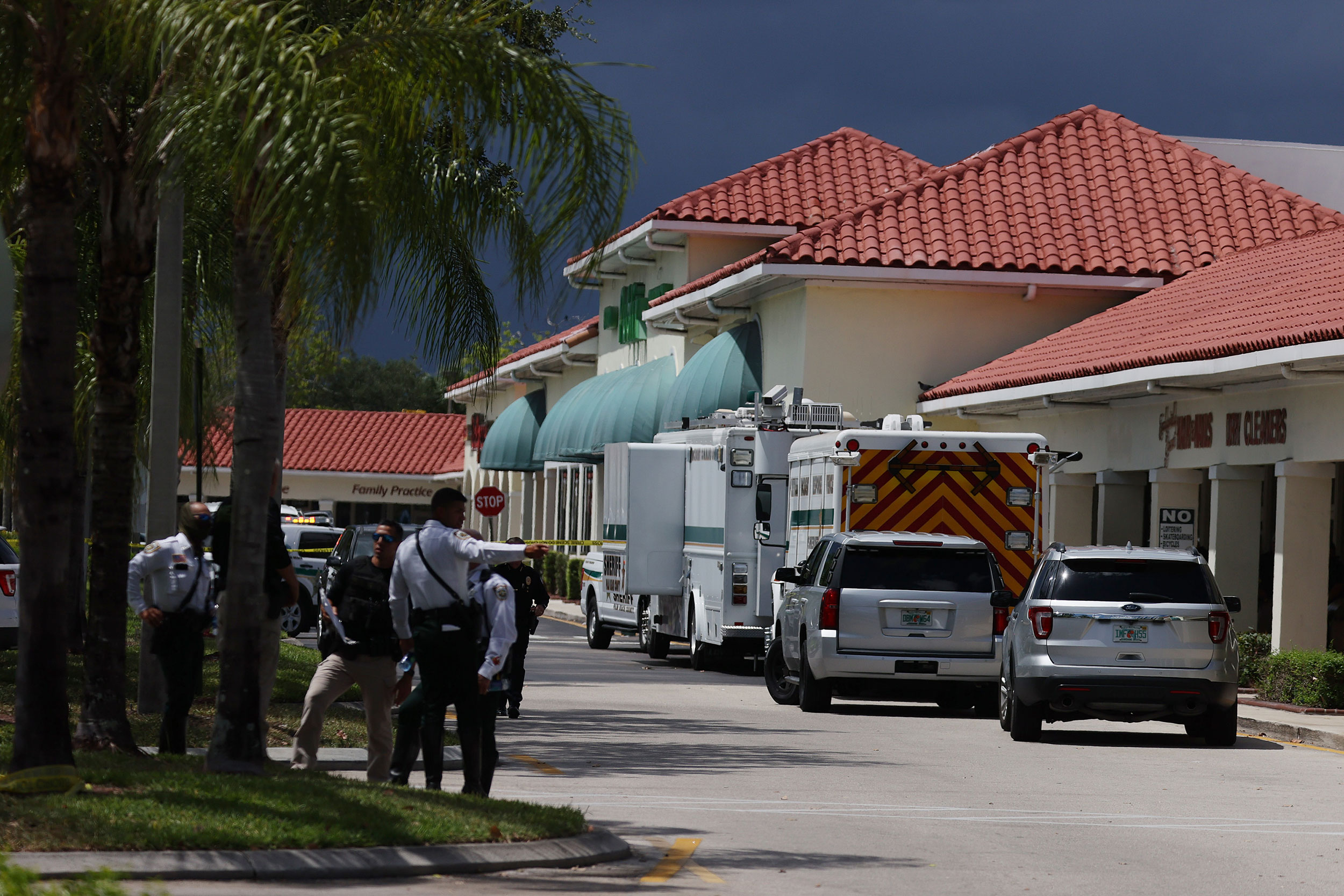 Gunman in Florida grocery store shot baby first before killing grandmother, investigator says