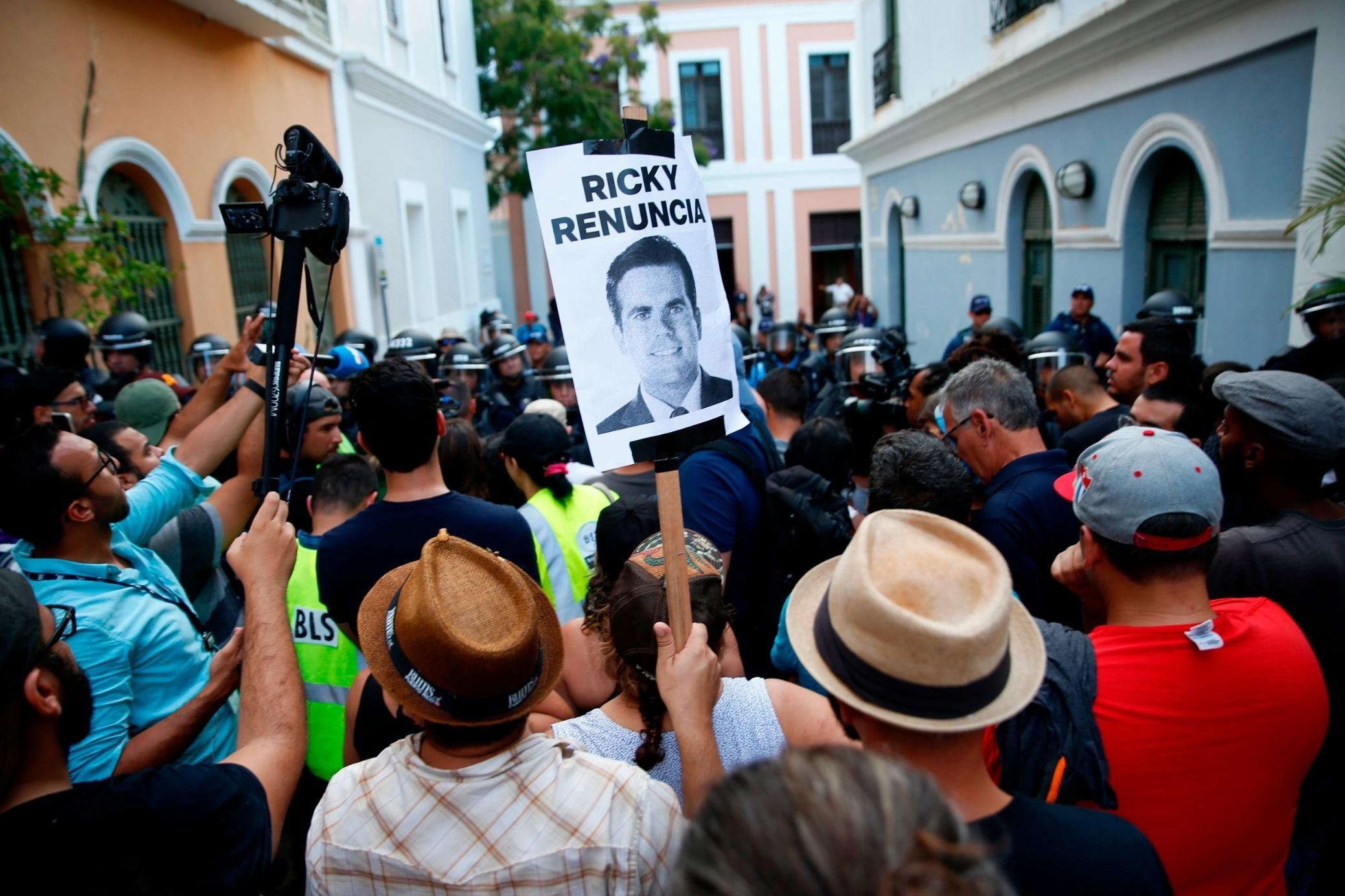 Puerto Rico braces for Friday protests amid calls for governor's ouster